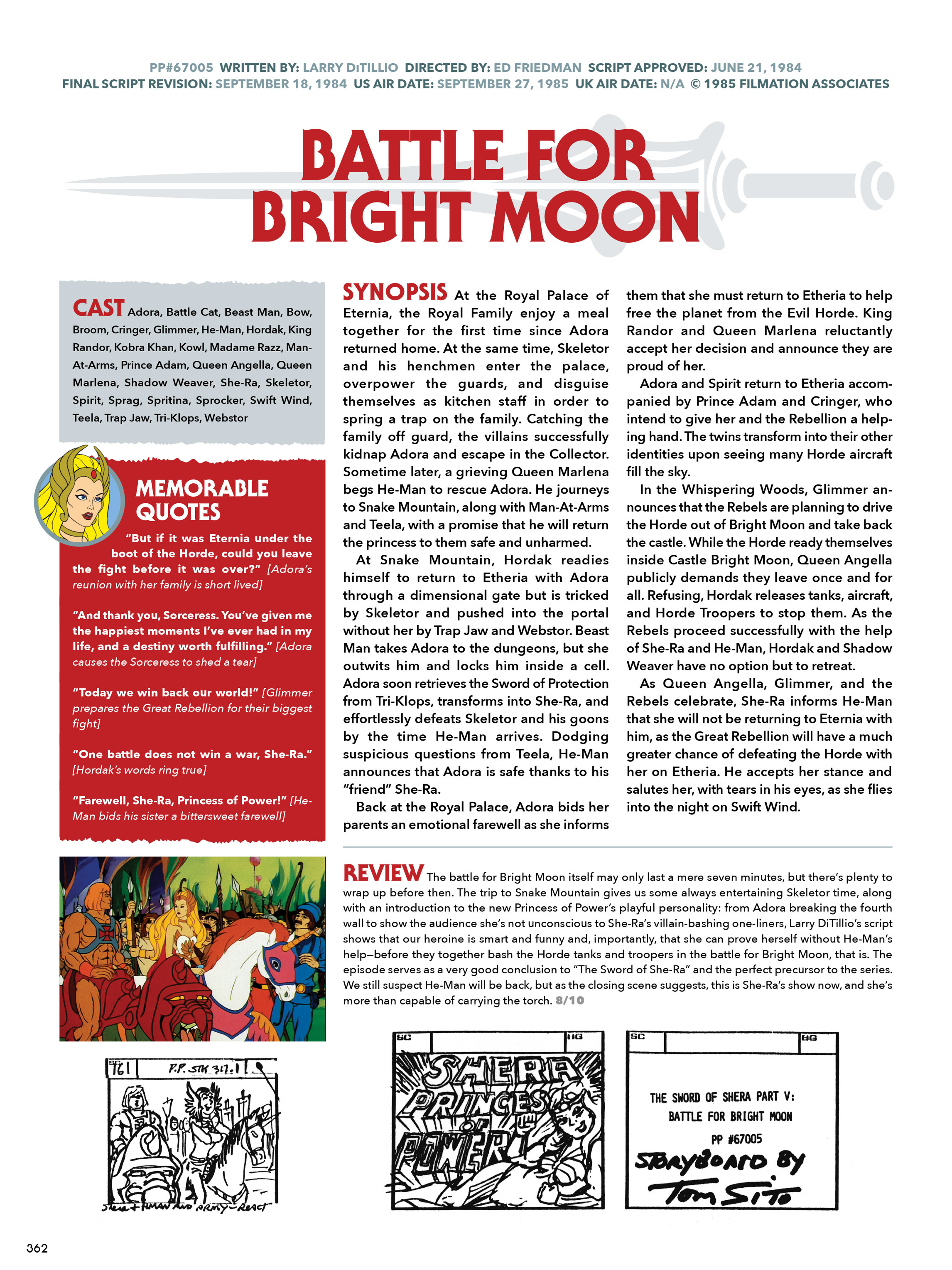 Read online He-Man and She-Ra: A Complete Guide to the Classic Animated Adventures comic -  Issue # TPB (Part 2) - 163