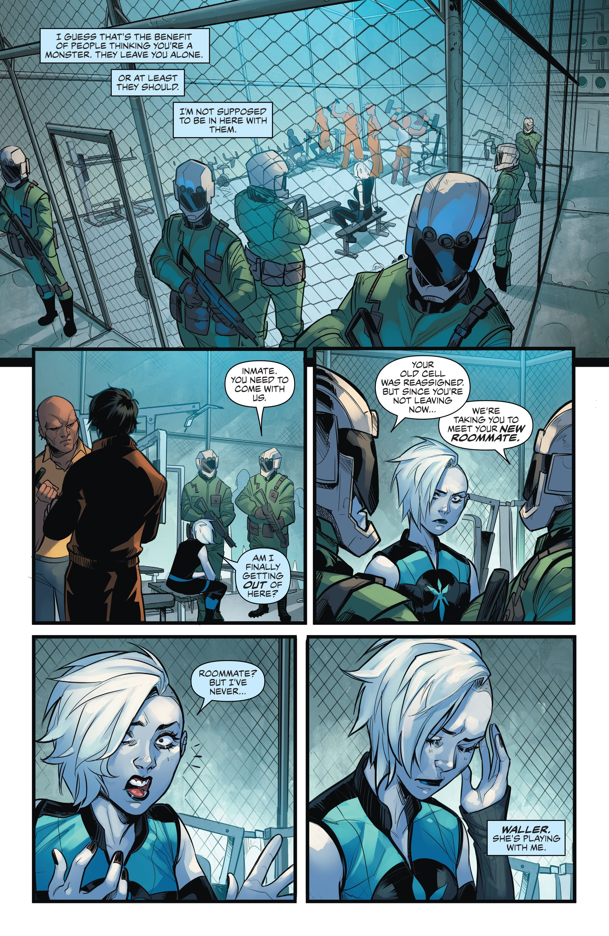 Read online Justice League of America: Killer Frost - Rebirth comic -  Issue # Full - 7