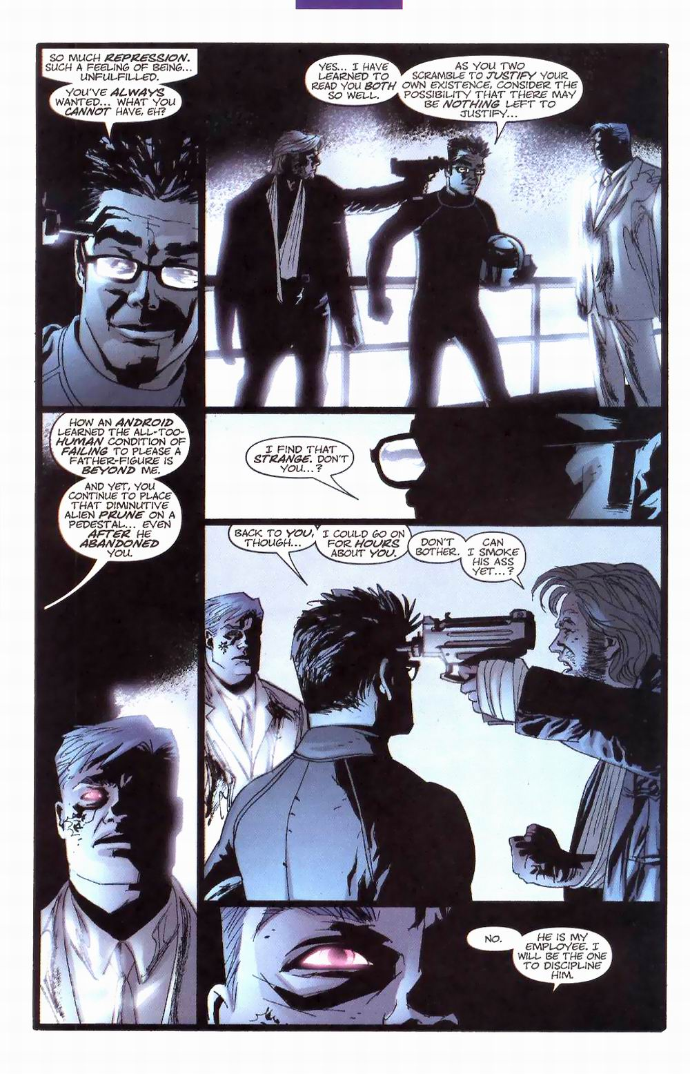 Wildcats (1999) Issue #26 #27 - English 21