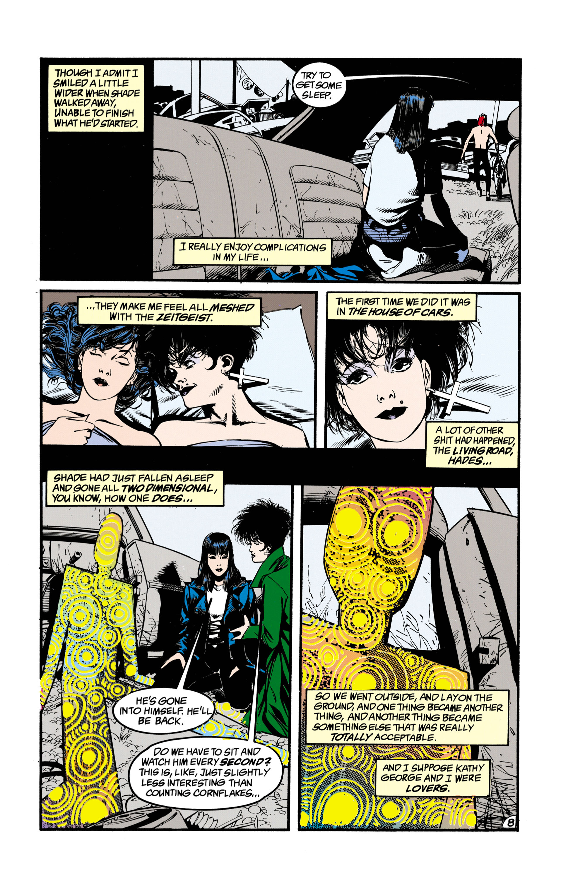 Read online Shade, the Changing Man comic -  Issue #26 - 9