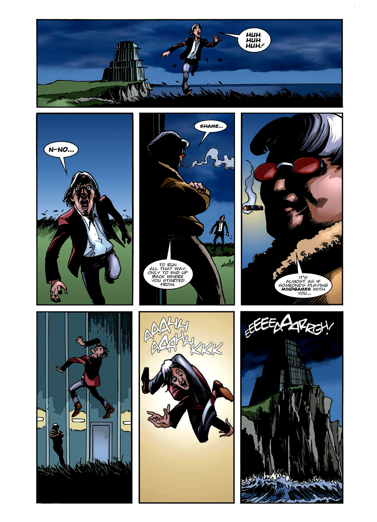 Read online Nikolai Dante comic -  Issue # TPB 6 - 67