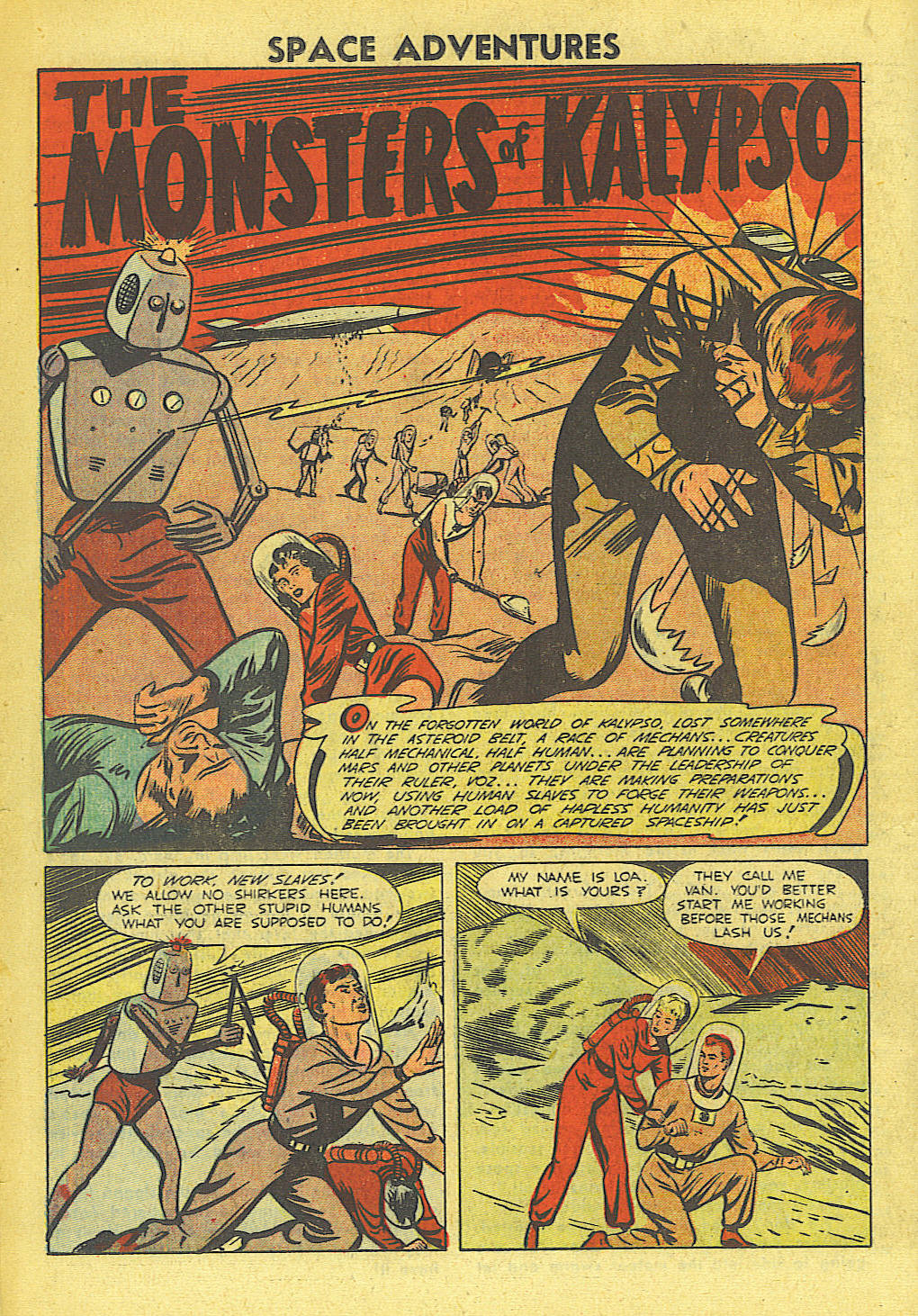 Space Adventures (1952) issue 4 - Page 15