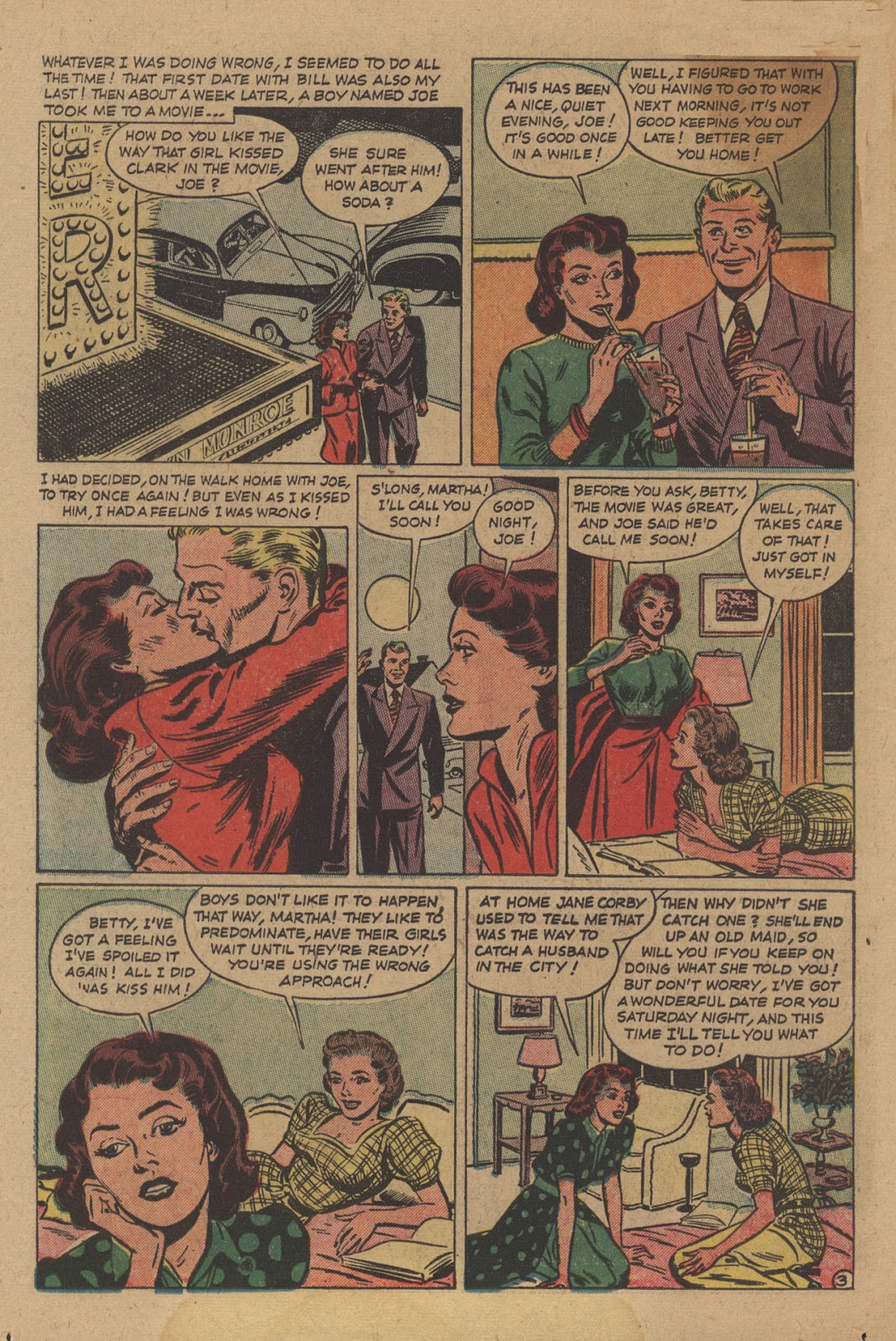 Love Romances (1949) issue 28 - Page 14