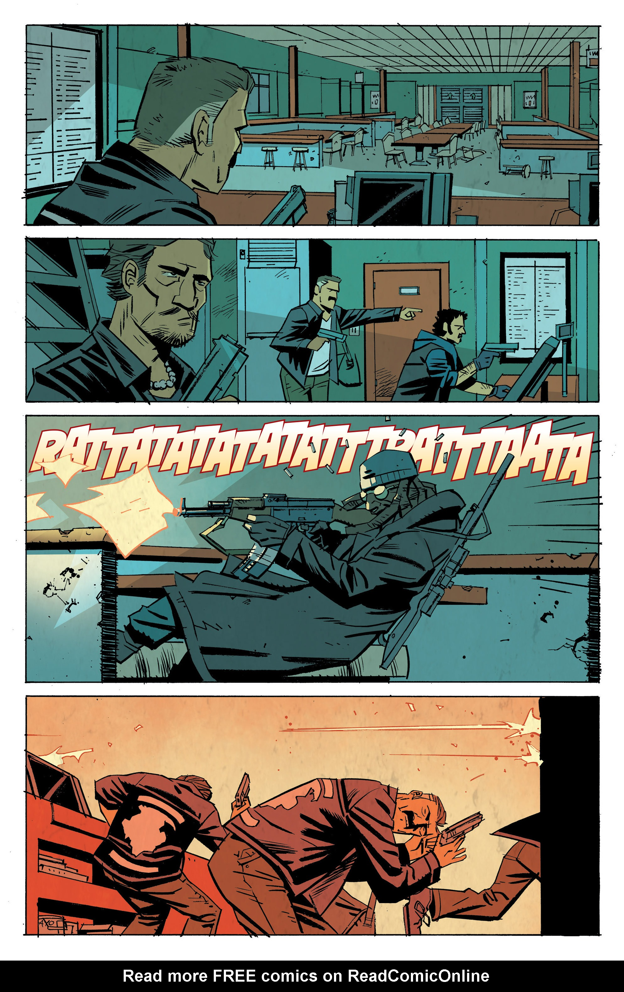 Read online Sons of Anarchy: Redwood Original comic -  Issue #8 - 7