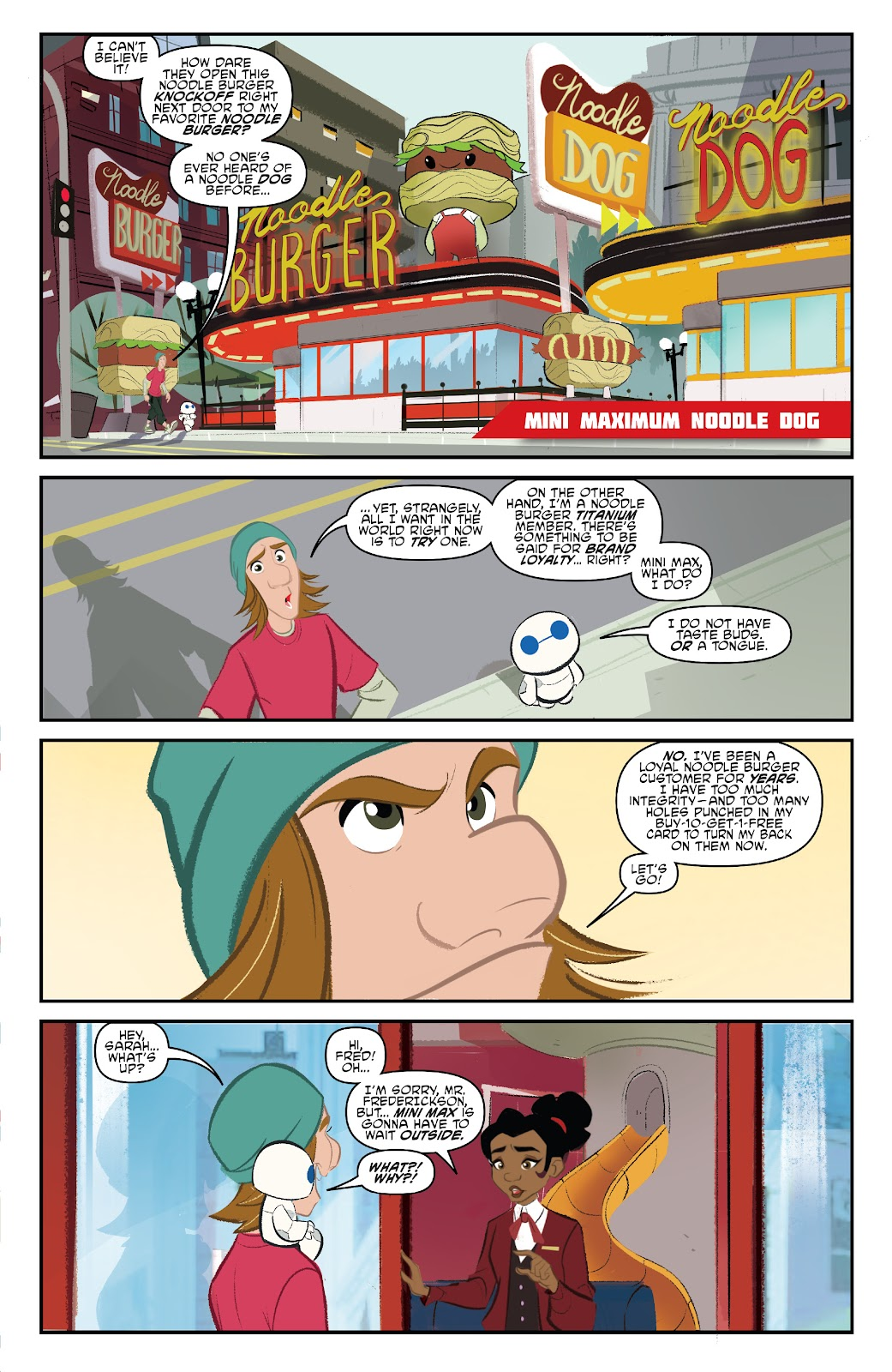 Read online Big Hero 6: The Series comic -  Issue #1 - 19