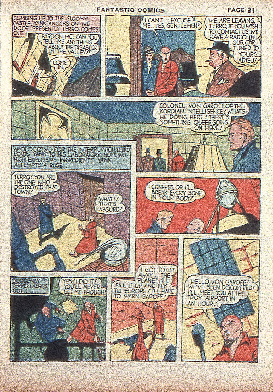 Read online Fantastic Comics comic -  Issue #4 - 33