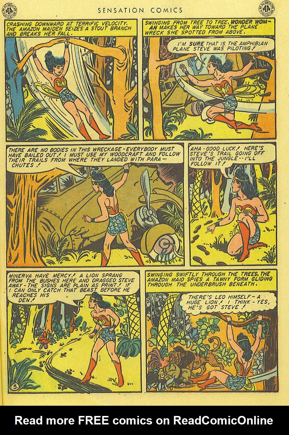 Read online Sensation (Mystery) Comics comic -  Issue #39 - 7