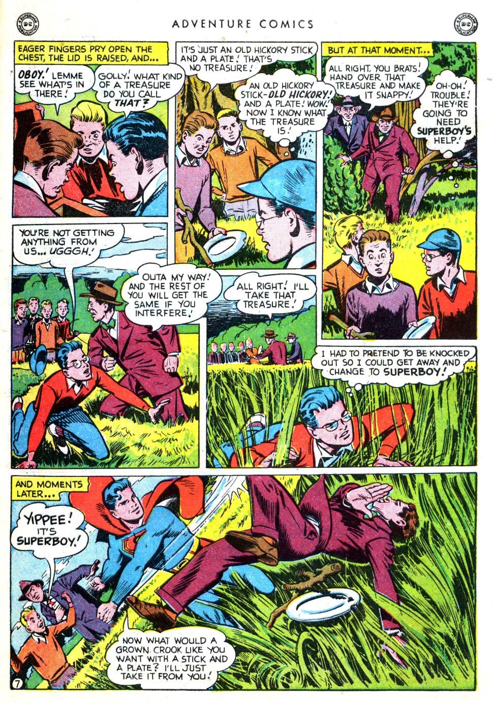 Read online Adventure Comics (1938) comic -  Issue #137 - 9