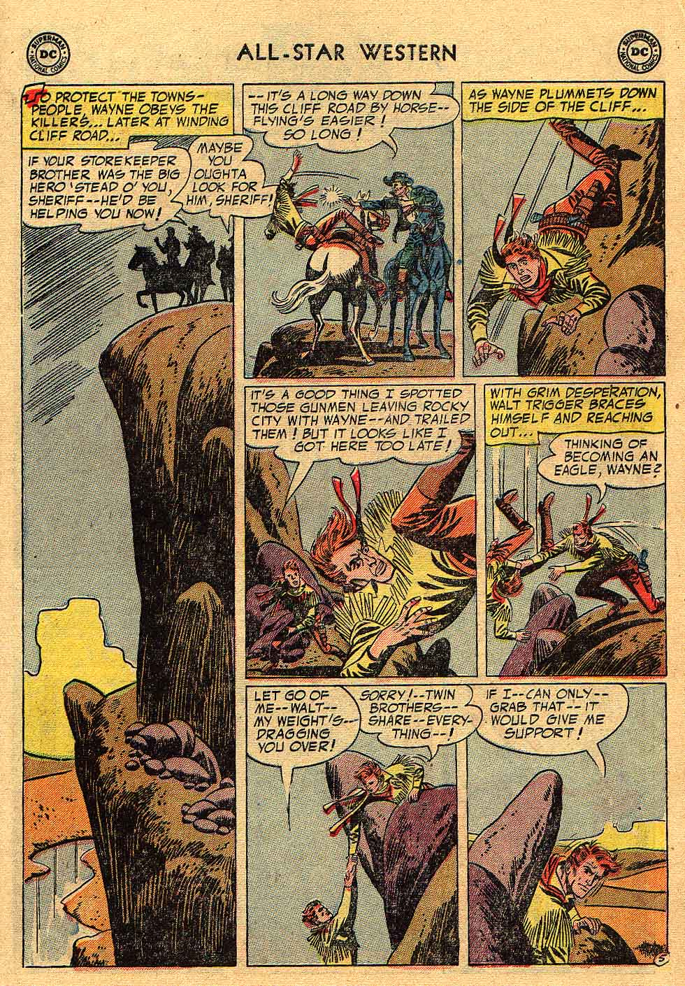 Read online All-Star Western (1951) comic -  Issue #80 - 7
