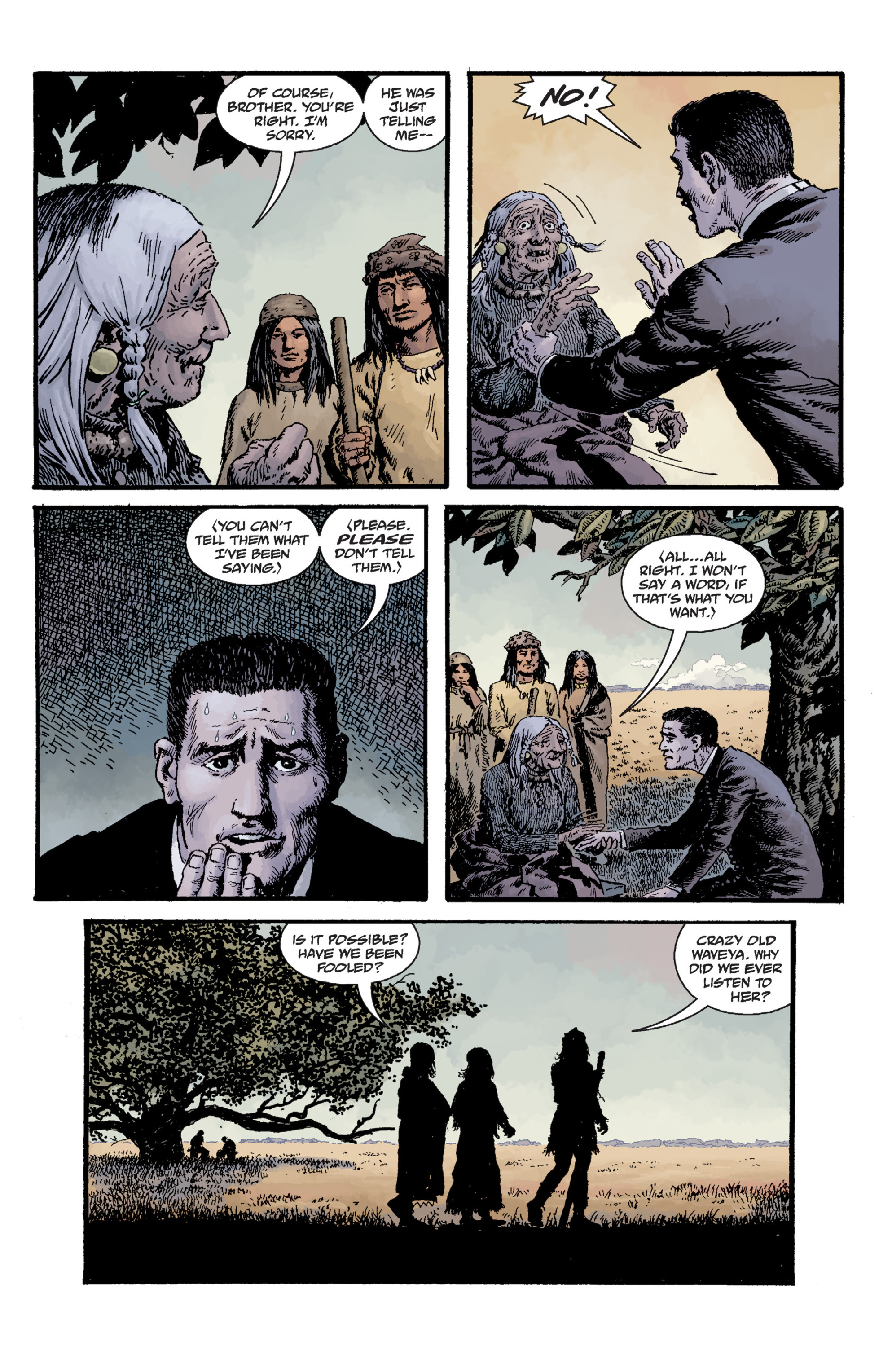 Read online Sir Edward Grey, Witchfinder: Lost and Gone Forever comic -  Issue # TPB - 92