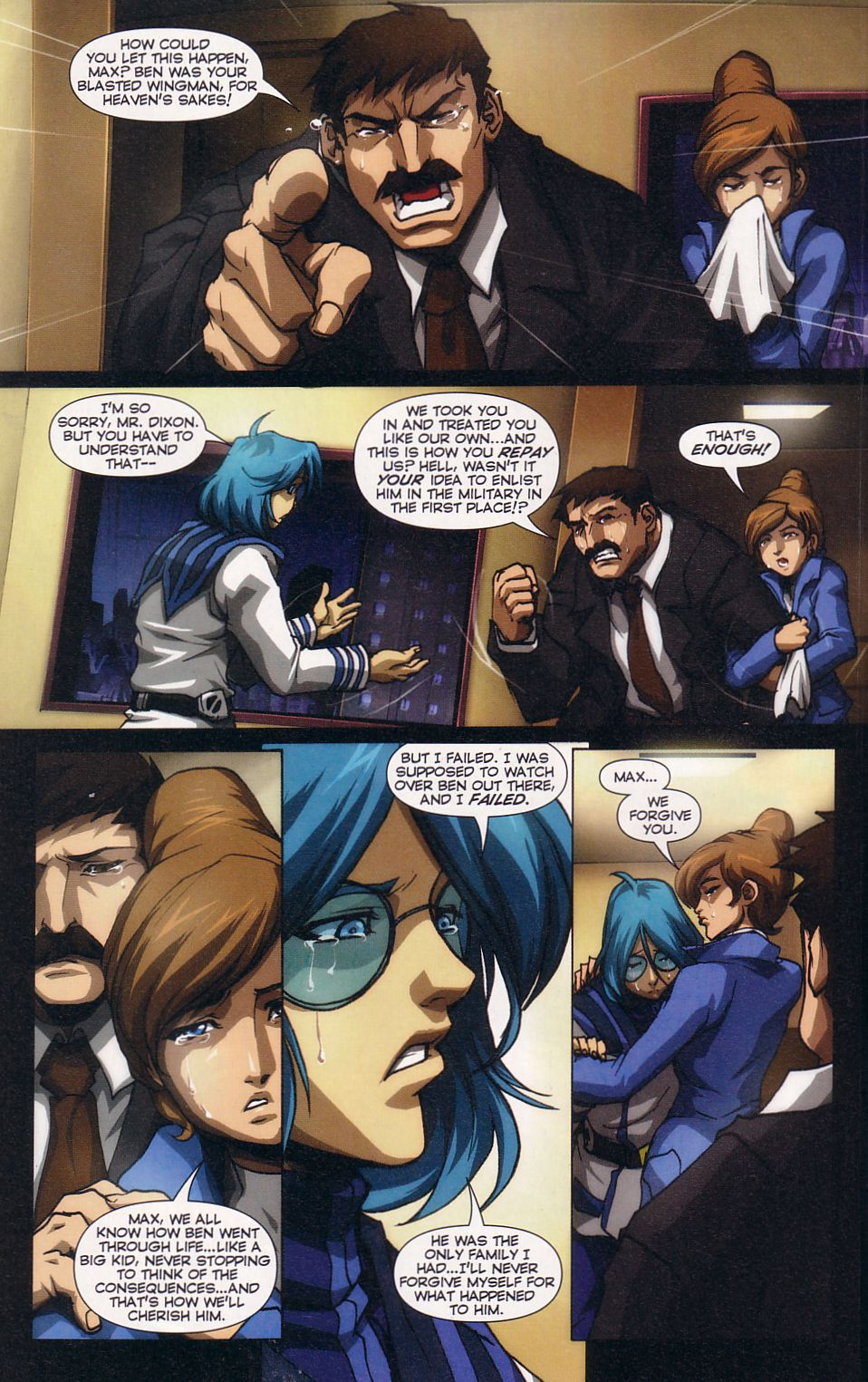Read online Robotech: Love and War comic -  Issue #5 - 9