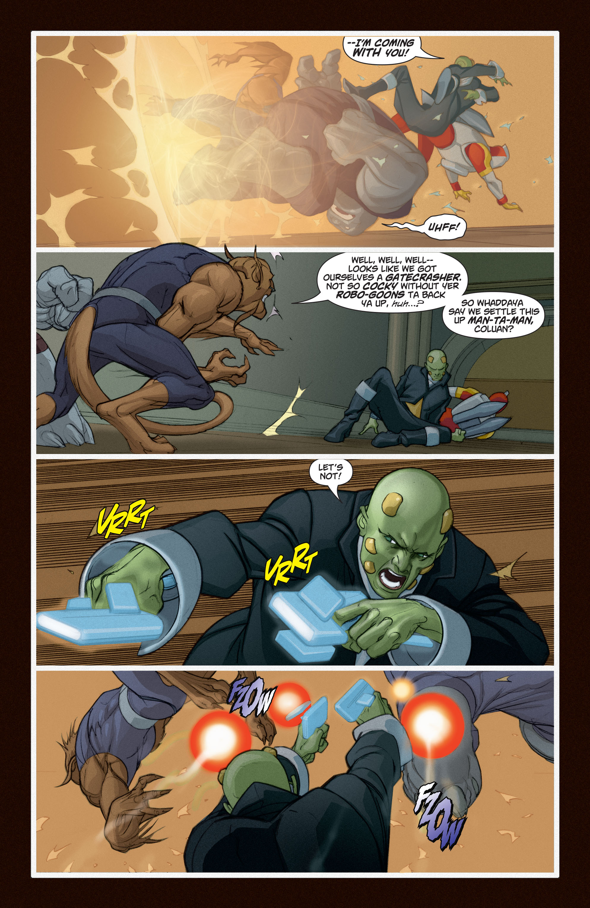 Read online Adam Strange (2004) comic -  Issue #6 - 21