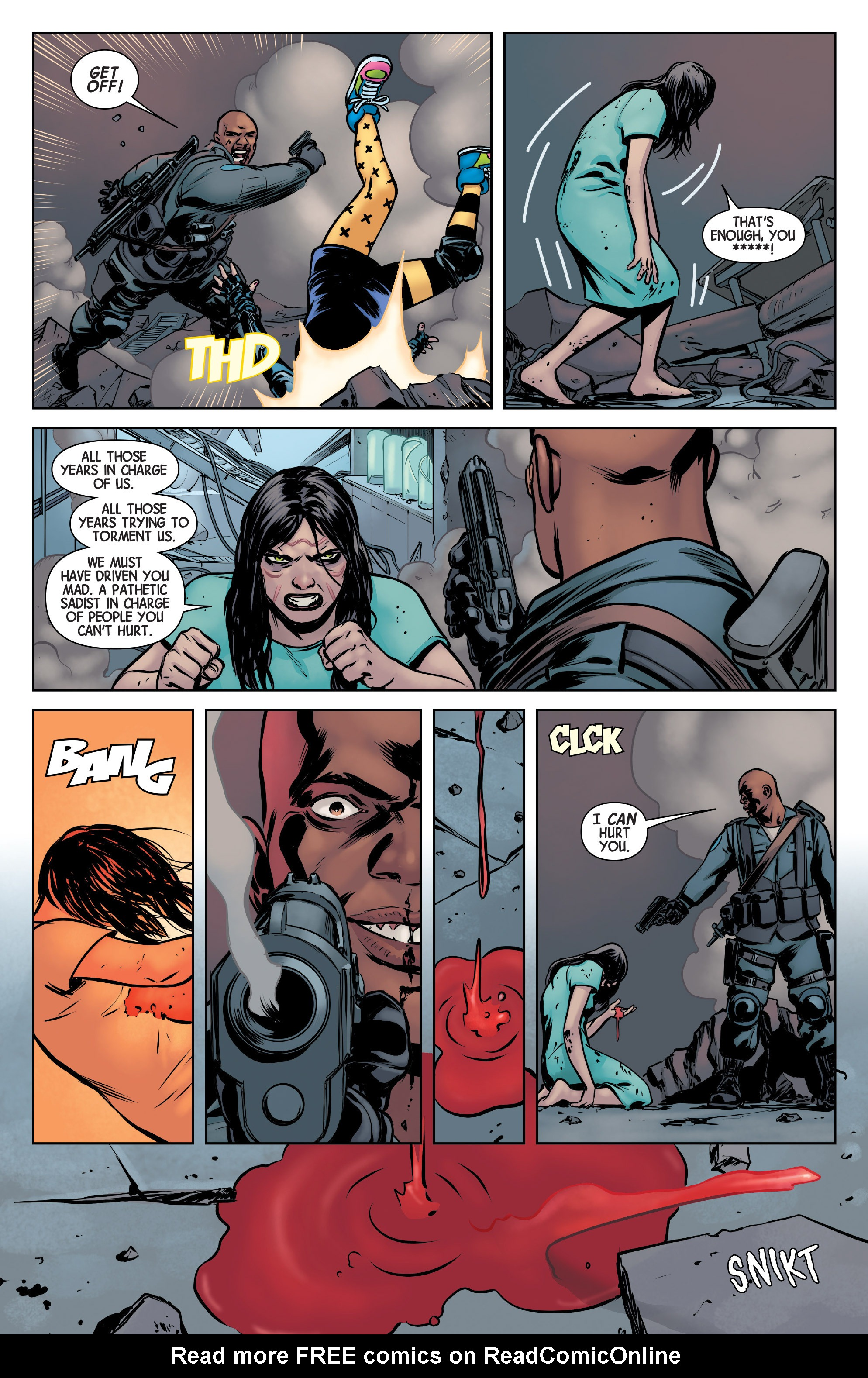 Read online All-New Wolverine (2016) comic -  Issue #5 - 17