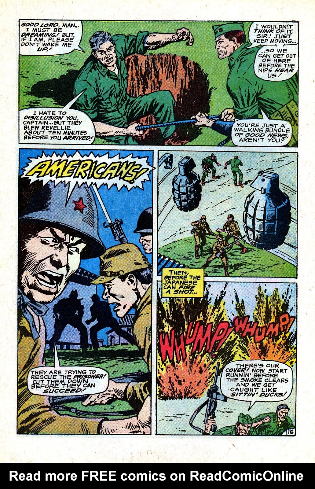 Captain Savage and his Leatherneck Raiders issue 18 - Page 23