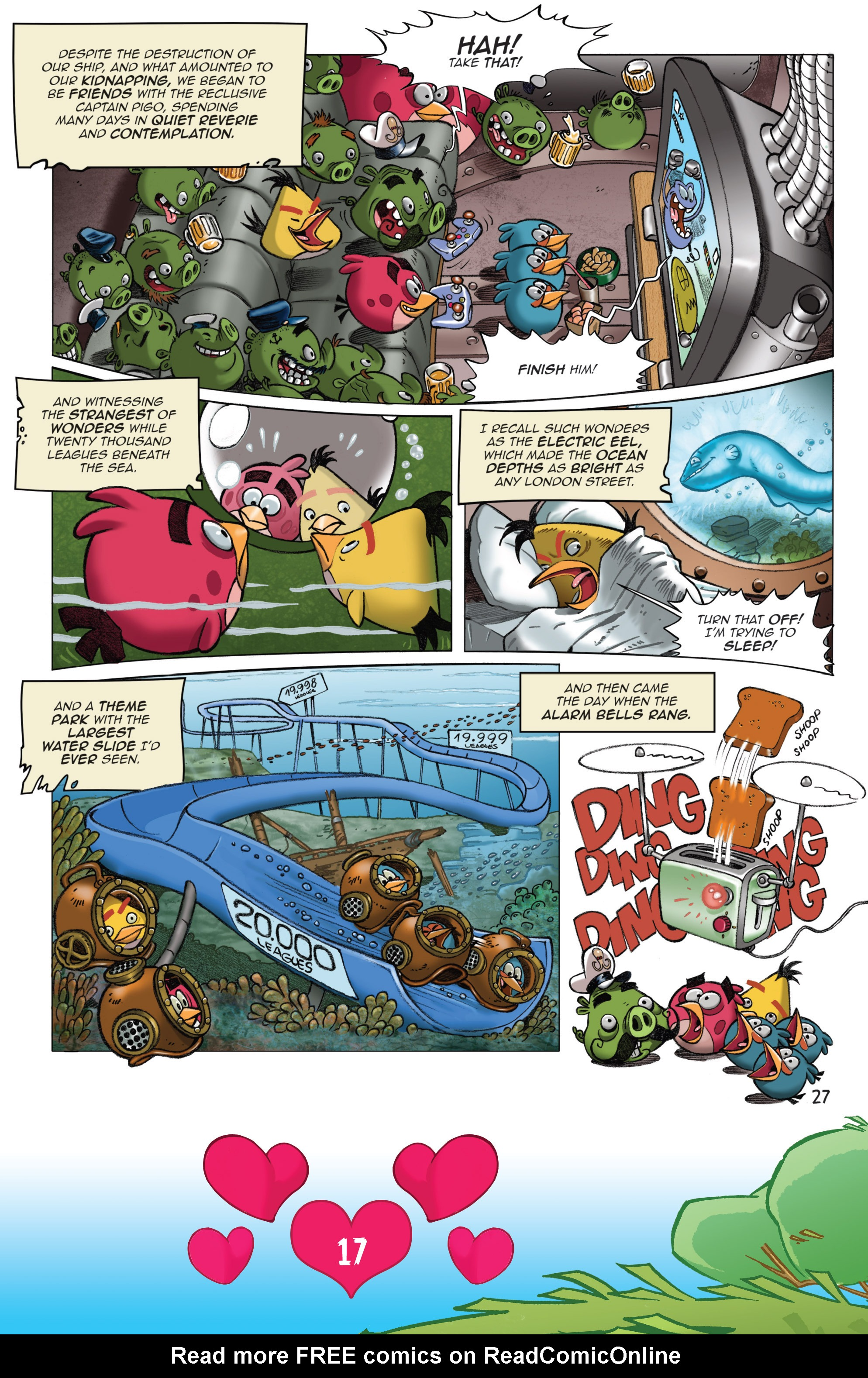 Read online Angry Birds Comics (2016) comic -  Issue #2 - 19
