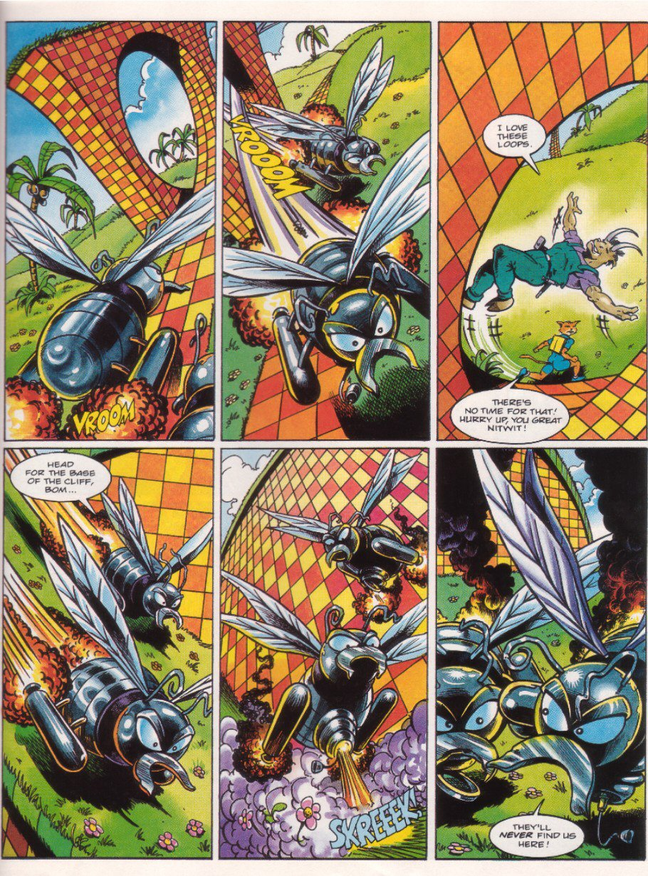 Read online Sonic the Comic comic -  Issue #34 - 21