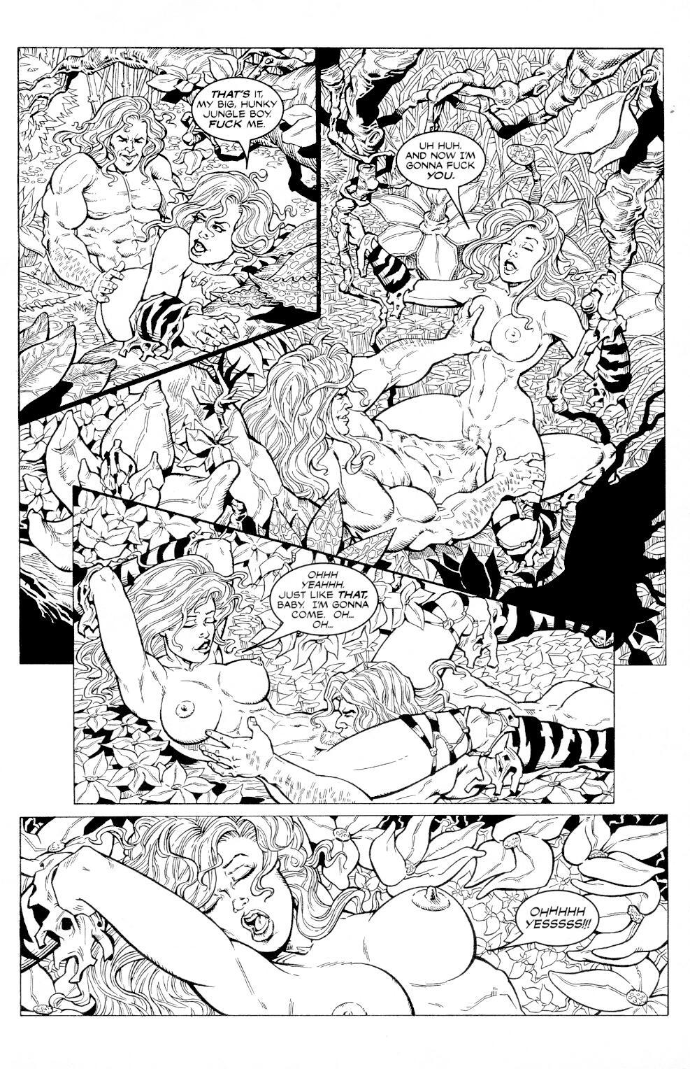 Read online Jungle Fantasy (2002) comic -  Issue #3 - 7