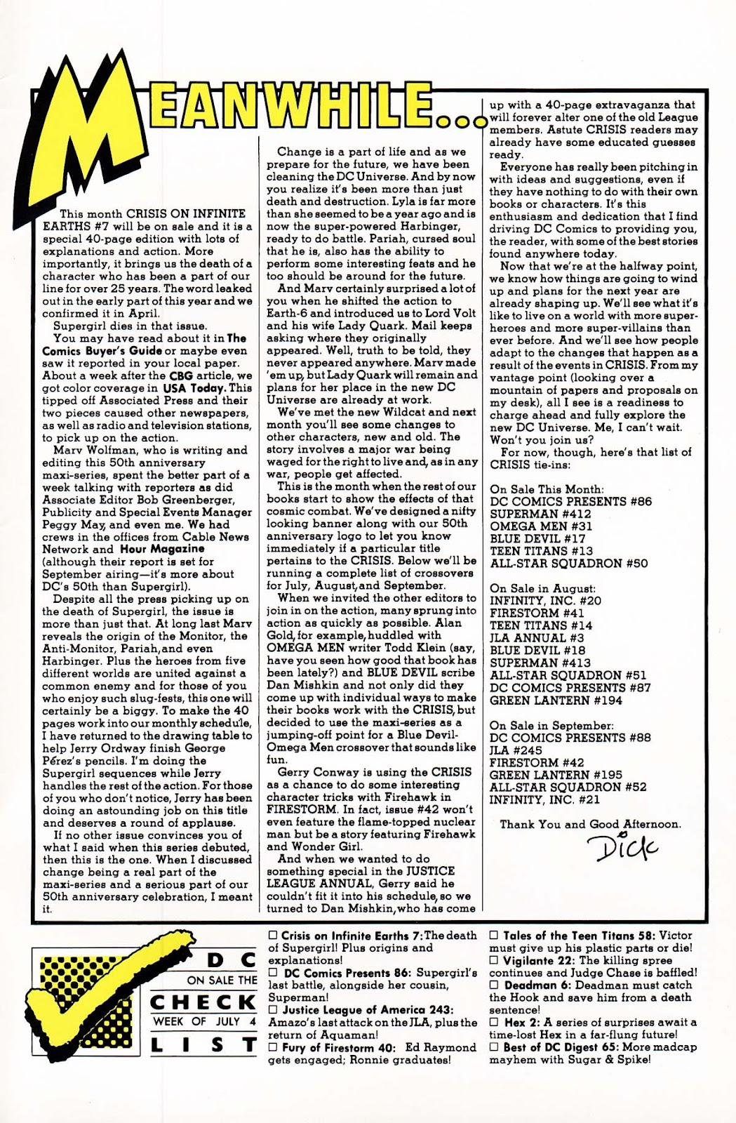Vigilante (1983) issue 22 - Page 27