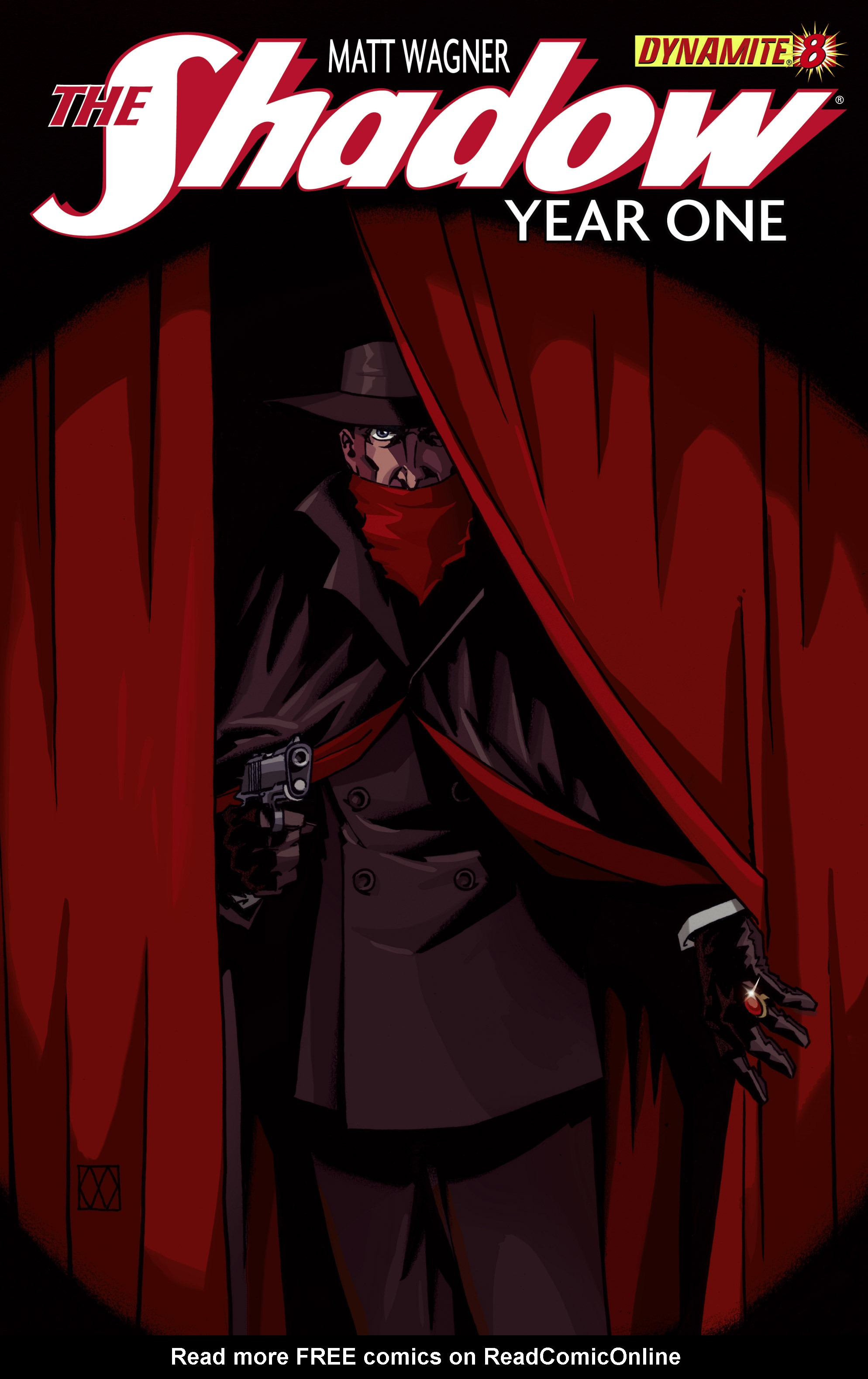 The Shadow: Year One 8 Page 1