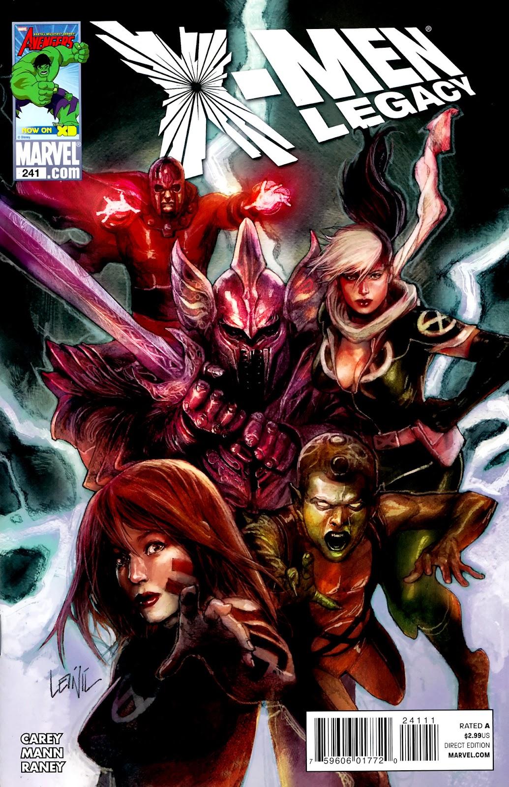 X-Men Legacy (2008) 241 Page 1