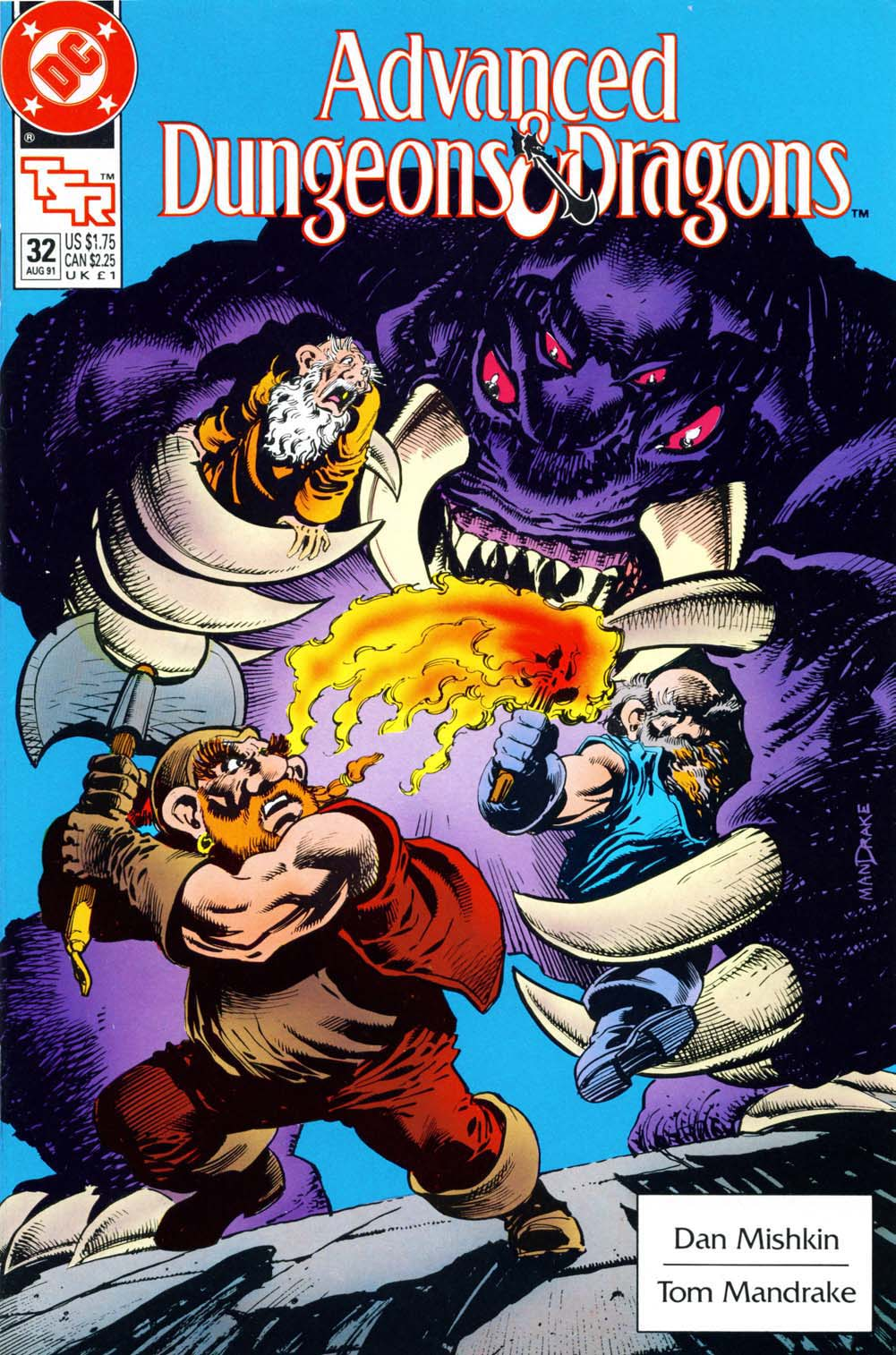 Read online Advanced Dungeons & Dragons comic -  Issue #32 - 1