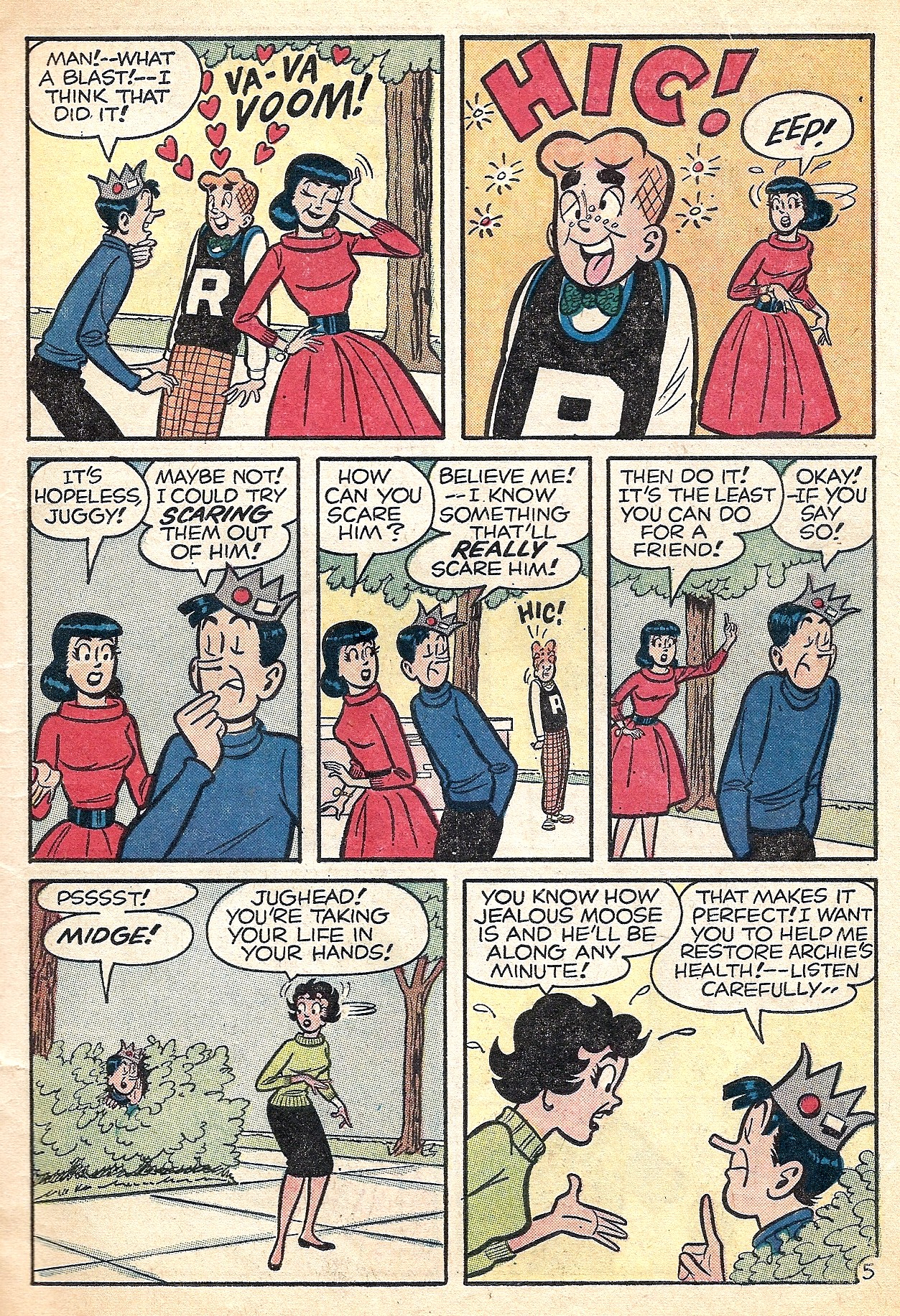 Read online Archie (1960) comic -  Issue #127 - 7