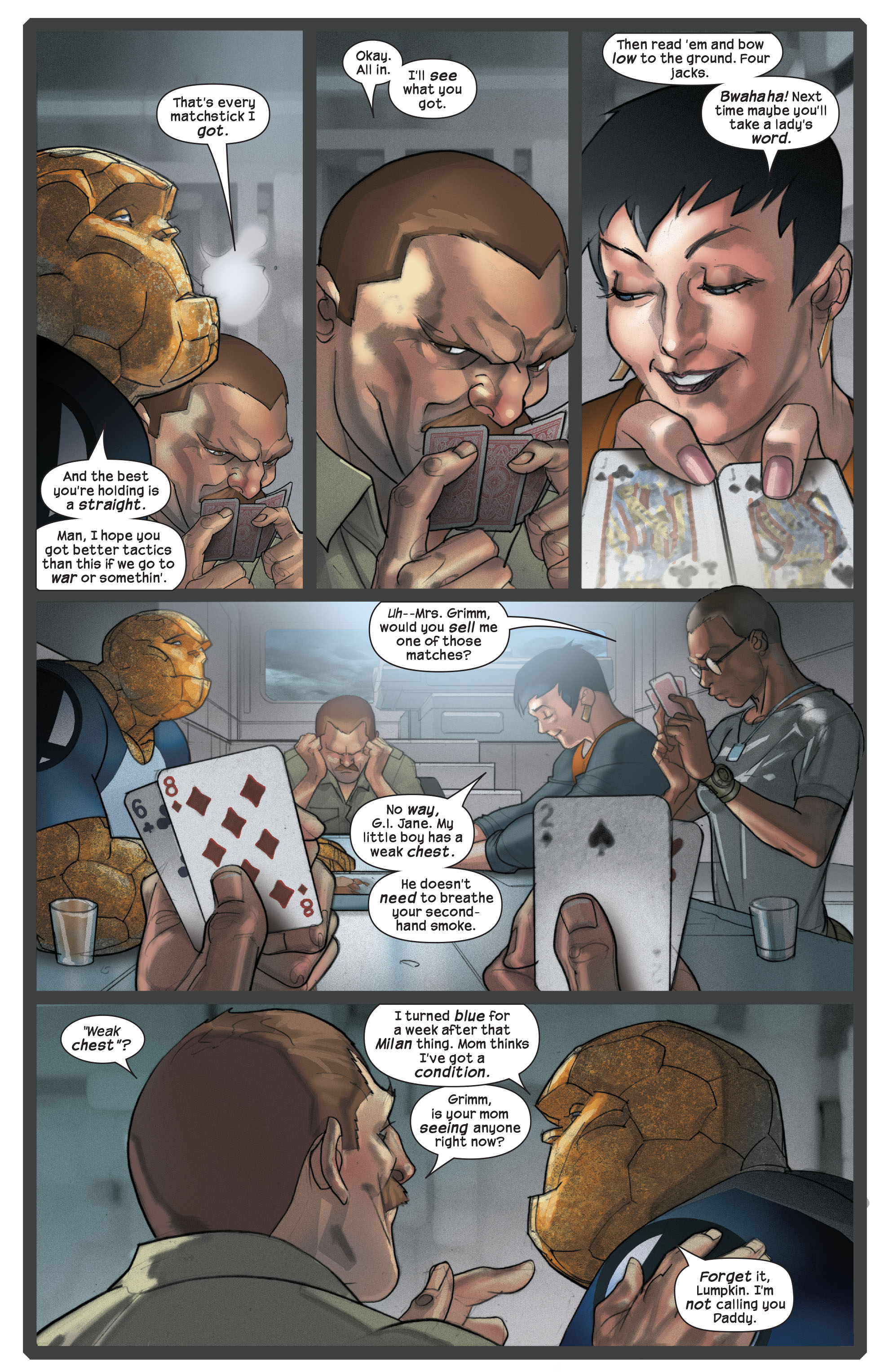 Read online Ultimate Fantastic Four (2004) comic -  Issue #42 - 10