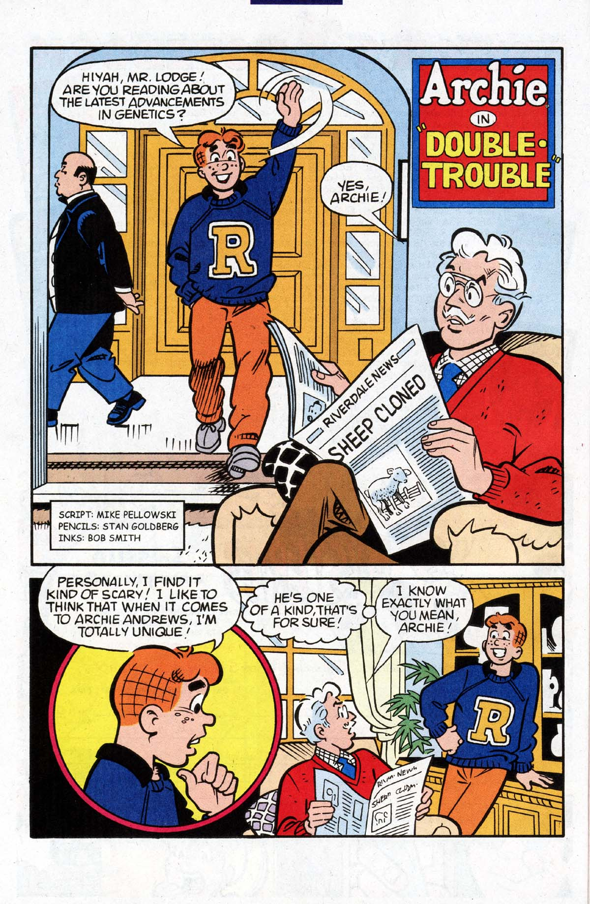Read online Archie (1960) comic -  Issue #528 - 22