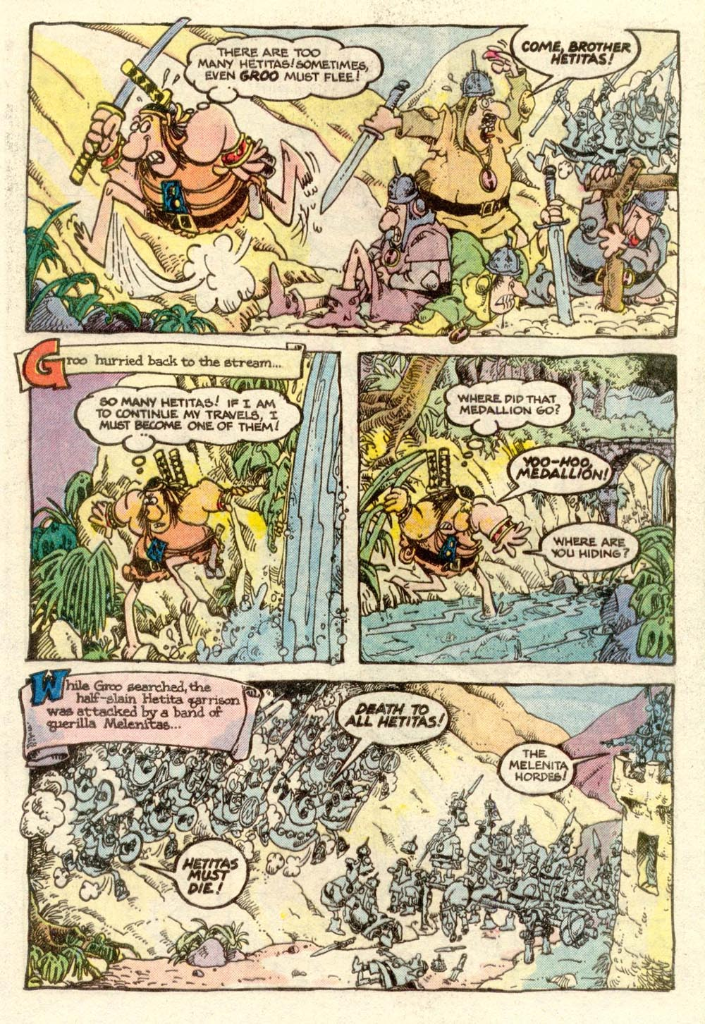 Read online Sergio Aragonés Groo the Wanderer comic -  Issue #3 - 10