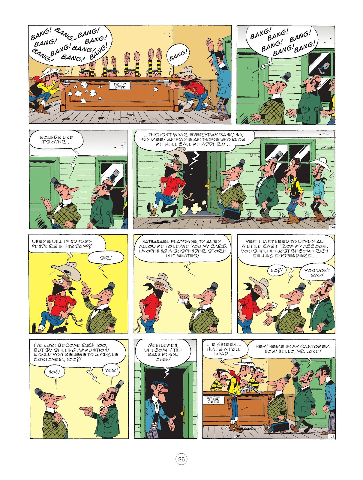 A Lucky Luke Adventure issue 72 - Page 28