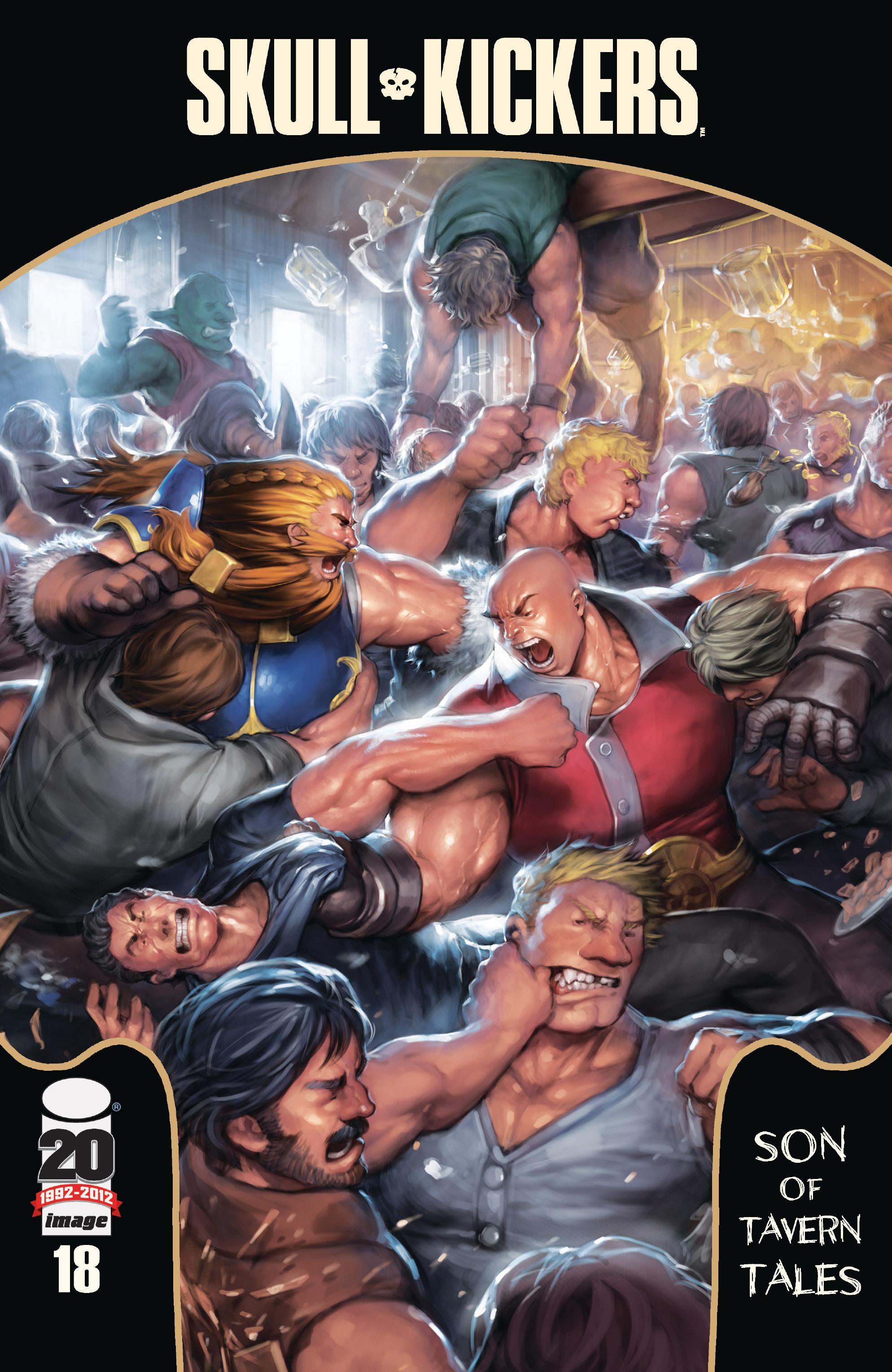 Read online Skullkickers comic -  Issue #18 - 1