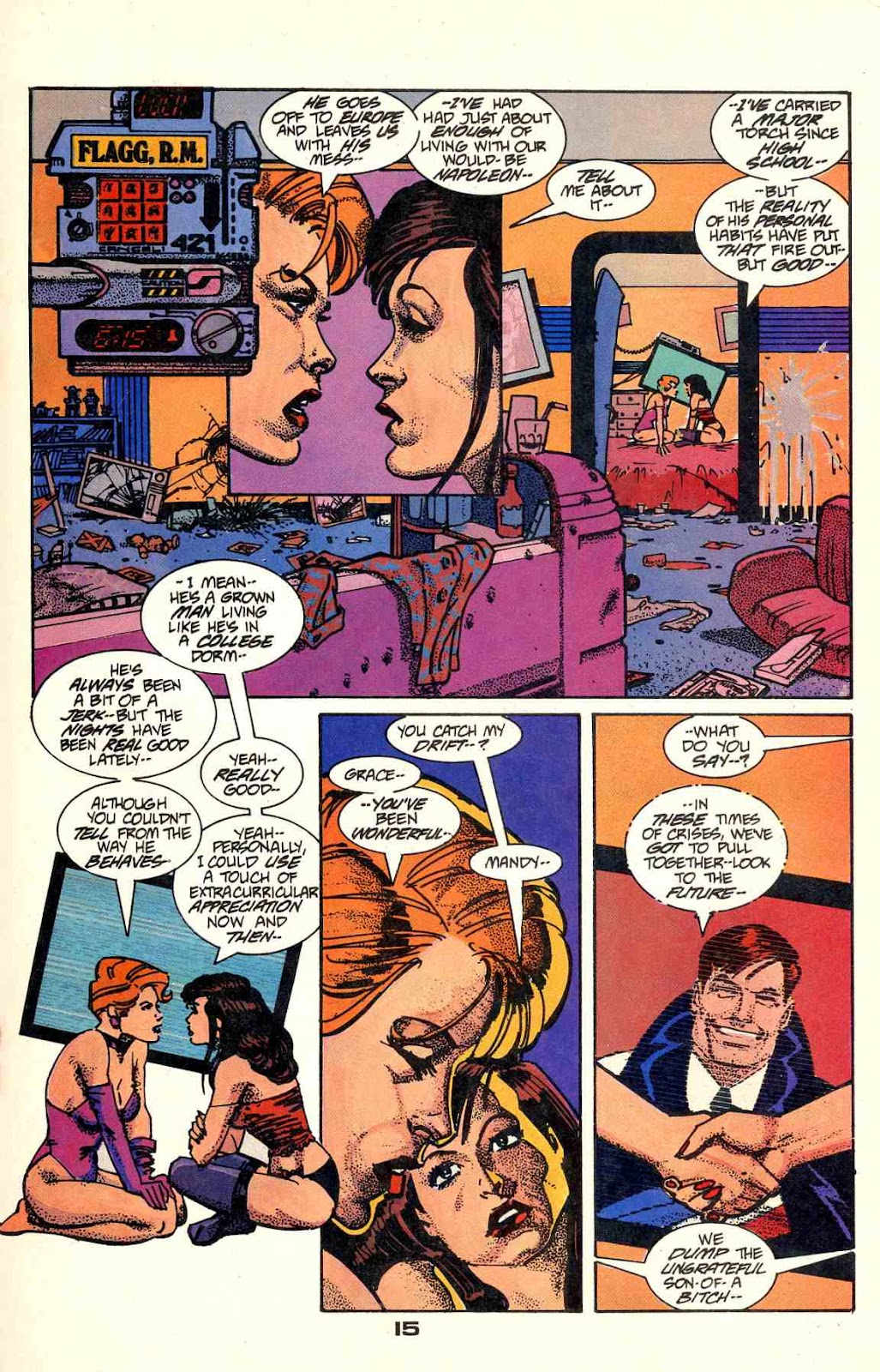 Howard Chaykin's American Flagg issue 2 - Page 17