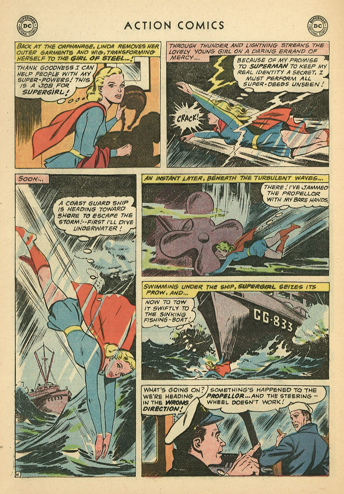 Read online Action Comics (1938) comic -  Issue #269 - 24