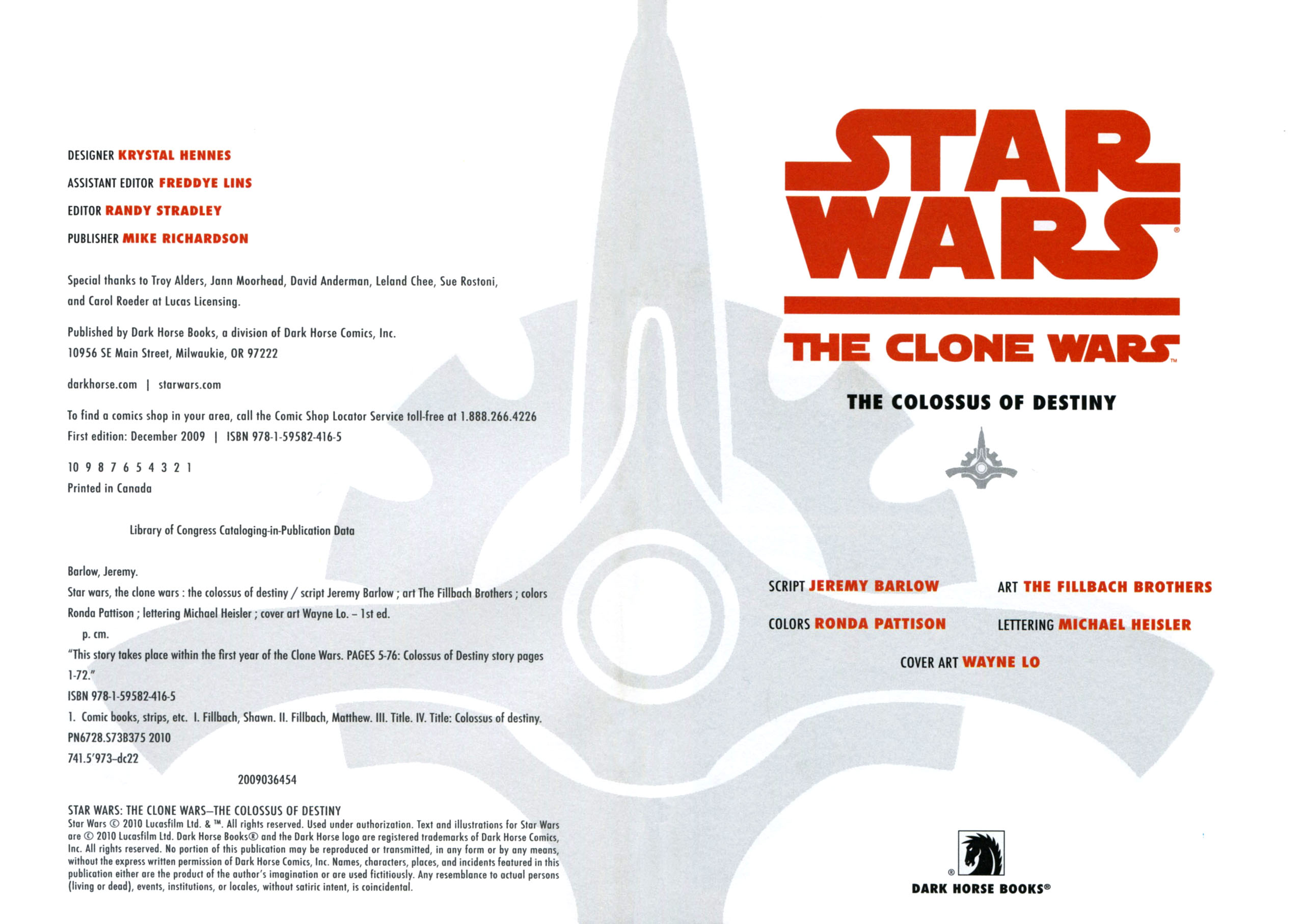 Read online Star Wars: The Clone Wars - The Colossus of Destiny comic -  Issue # Full - 4