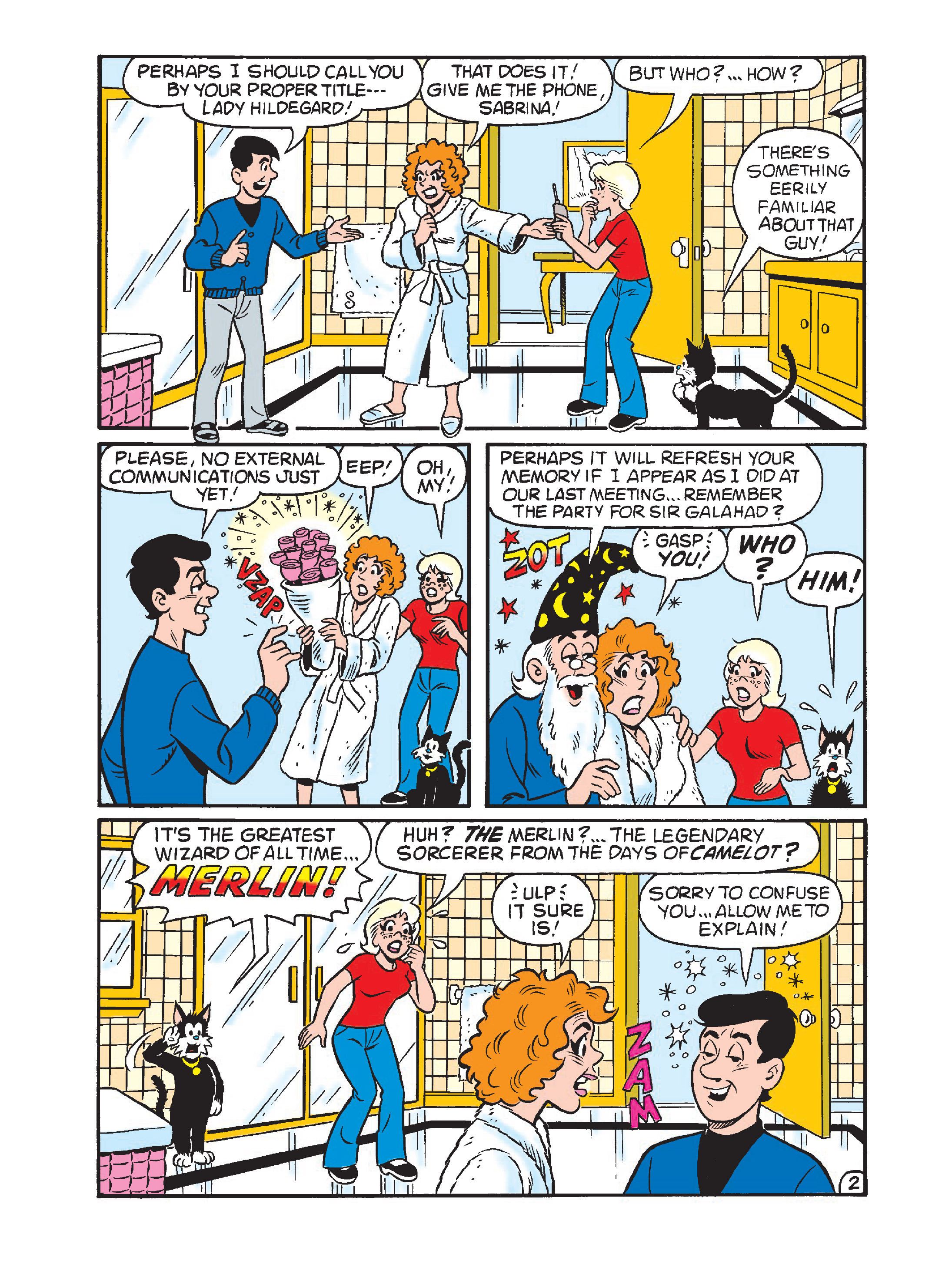 Read online Archie 75th Anniversary Digest comic -  Issue #1 - 107