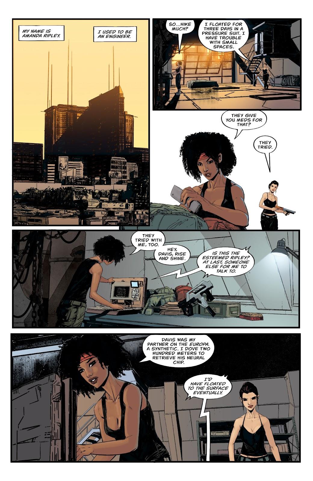 Read online Aliens: Resistance comic -  Issue #1 - 8