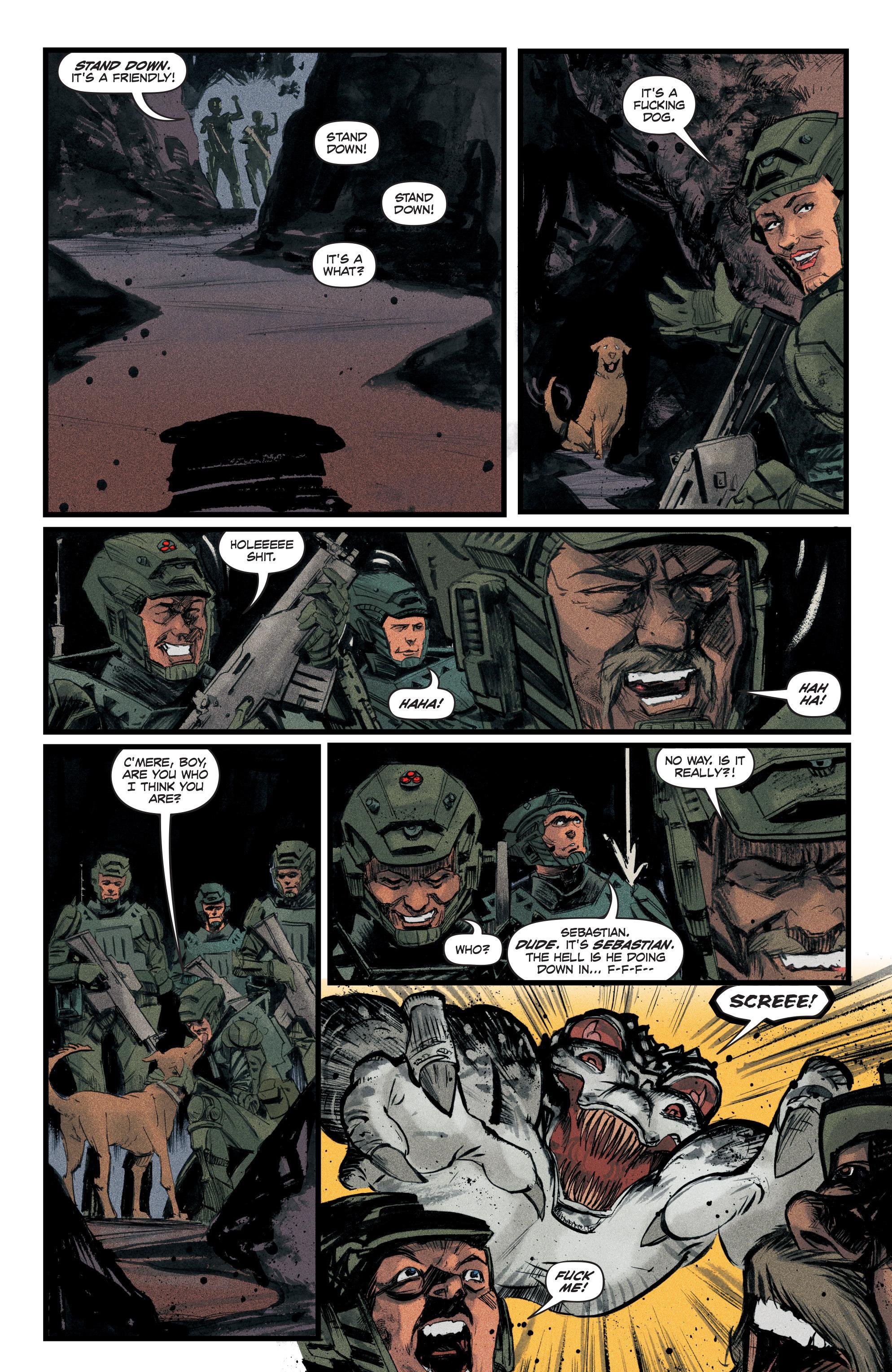 Read online Redline comic -  Issue #3 - 4