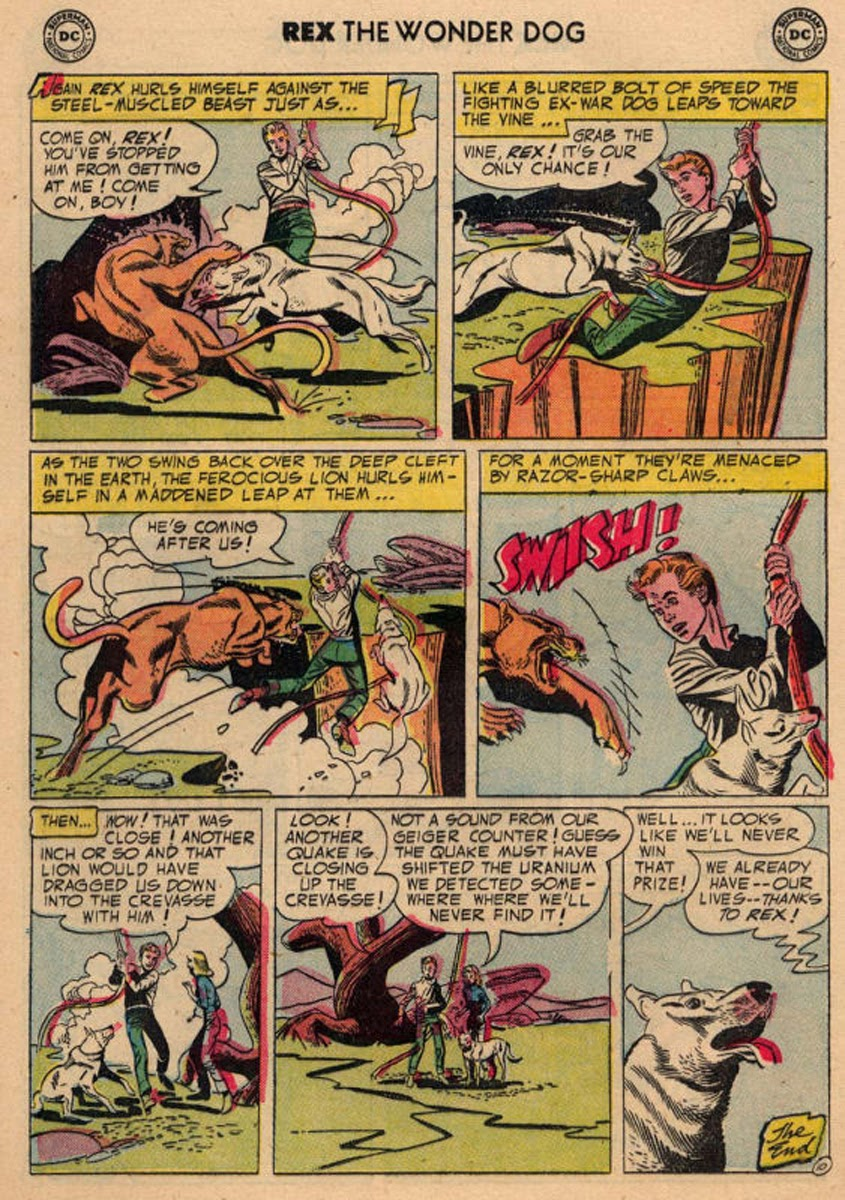 The Adventures of Rex the Wonder Dog issue 20 - Page 12