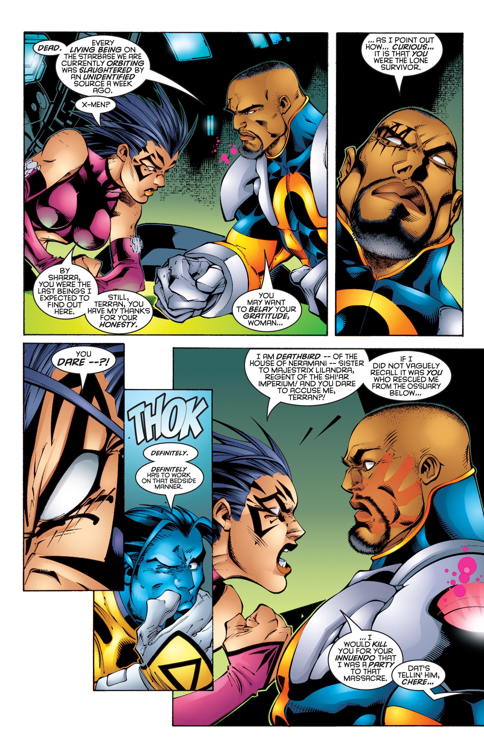 Read online Uncanny X-Men (1963) comic -  Issue #343 - 4