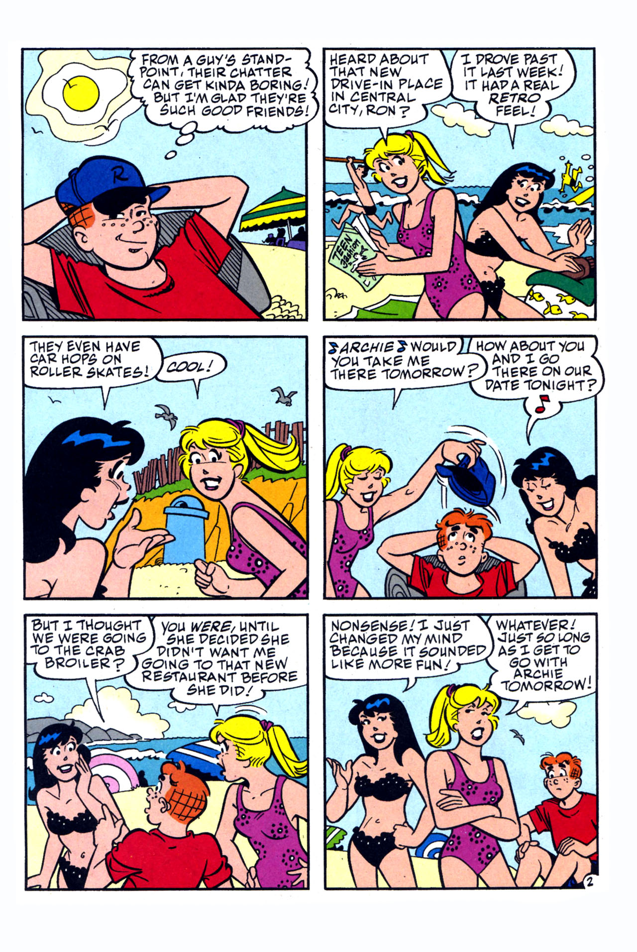 Read online Archie (1960) comic -  Issue #577 - 14