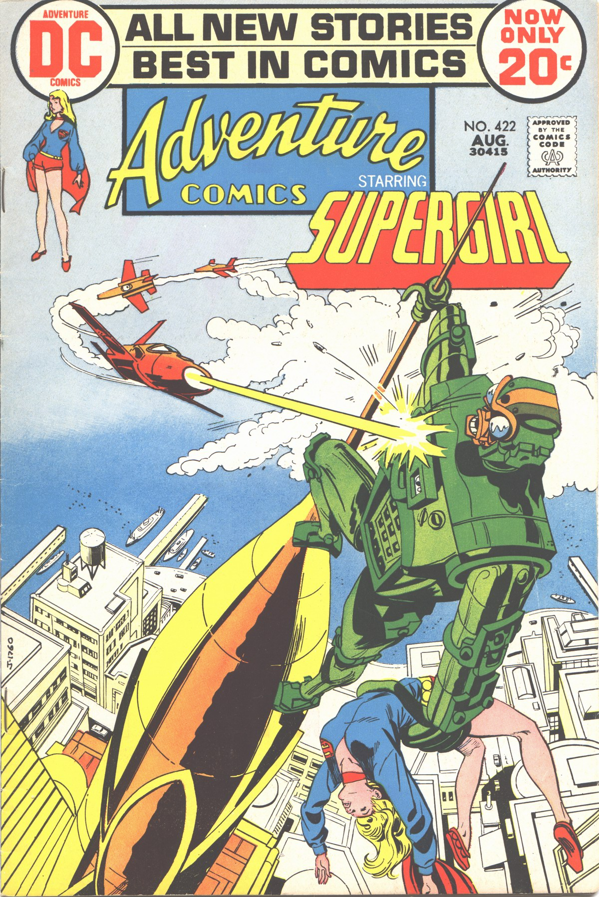 Read online Adventure Comics (1938) comic -  Issue #422 - 1