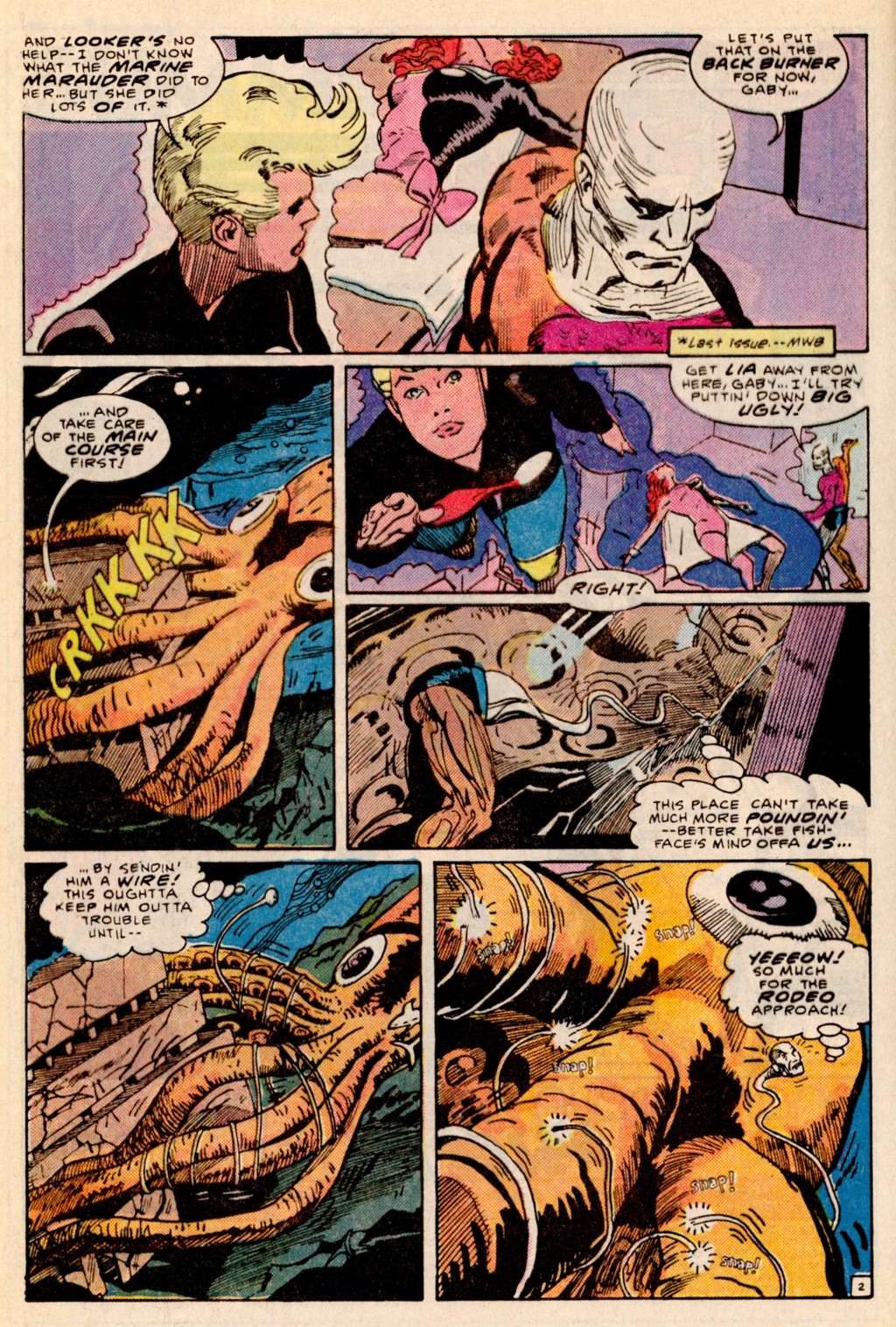 Read online Adventures of the Outsiders comic -  Issue #38 - 3