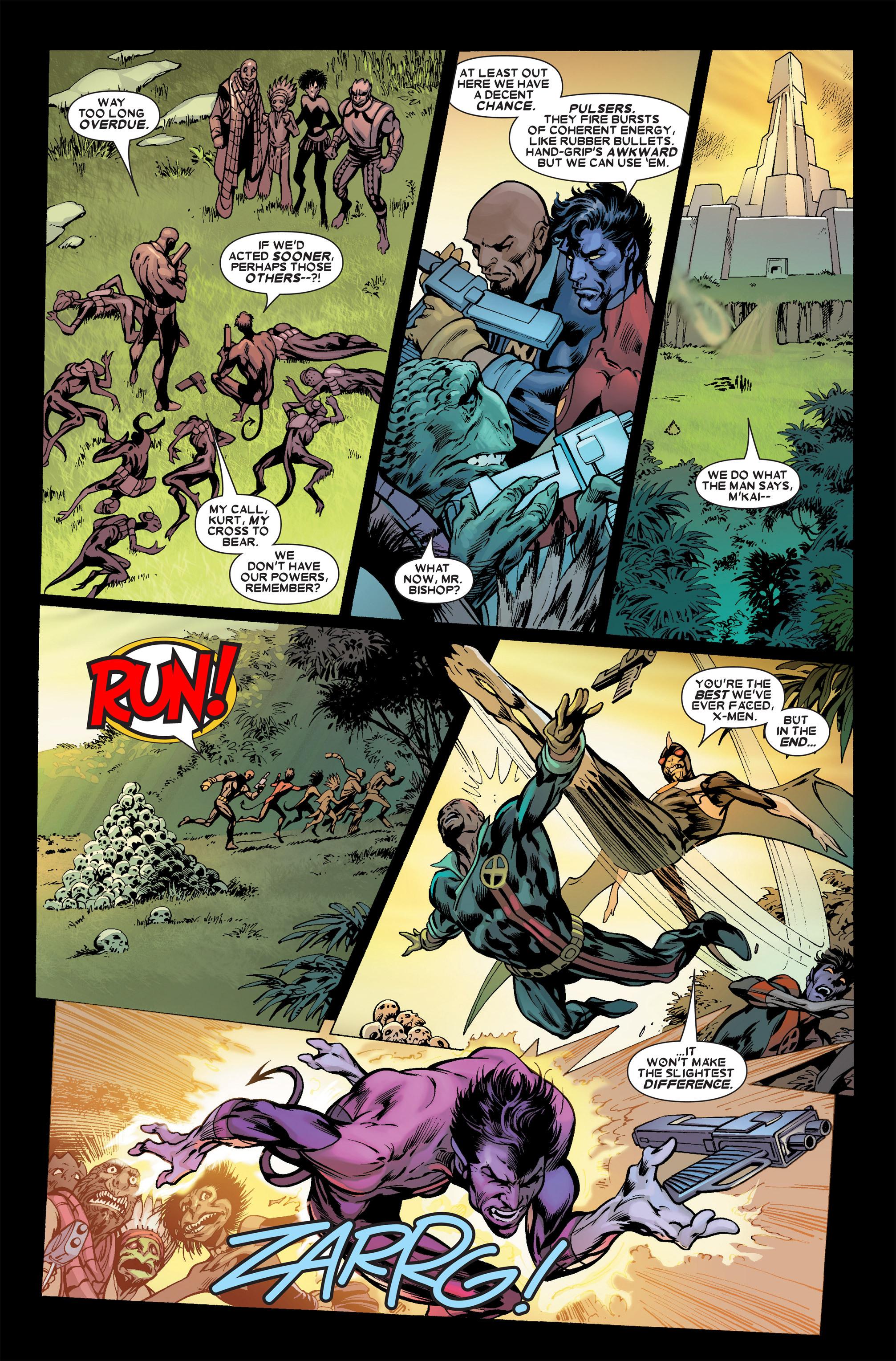 Read online Uncanny X-Men (1963) comic -  Issue #457 - 19