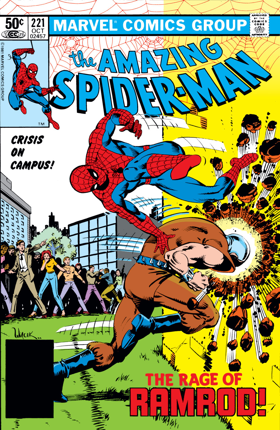The Amazing Spider-Man (1963) 221 Page 1