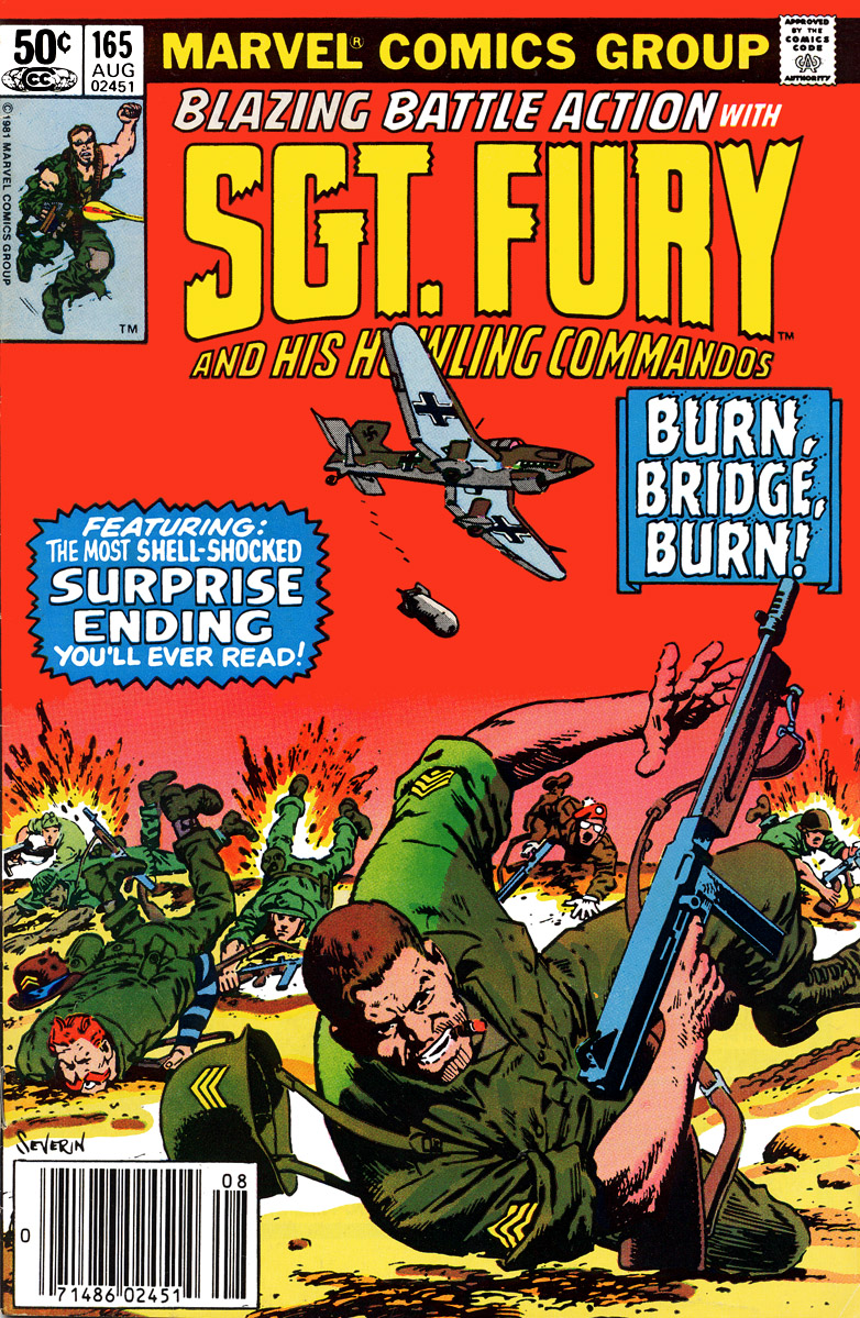 Sgt. Fury 165 Page 1