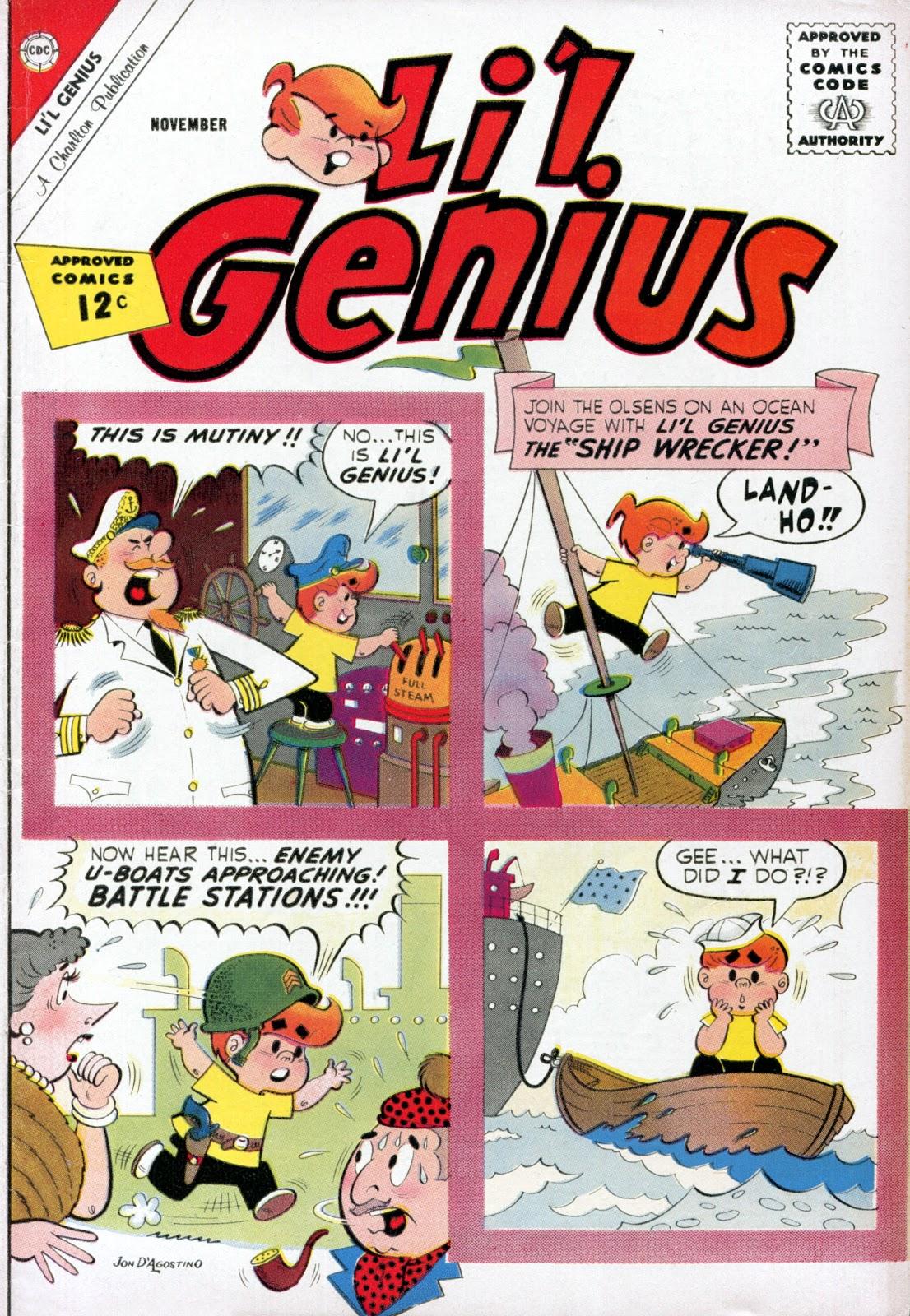 Lil Genius 41 Page 1