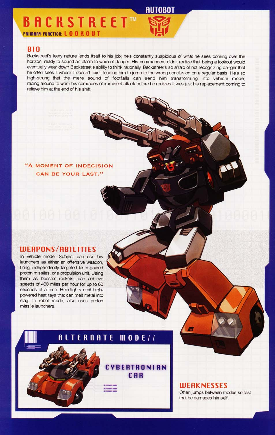 Read online Transformers: More than Meets the Eye comic -  Issue #1 - 16