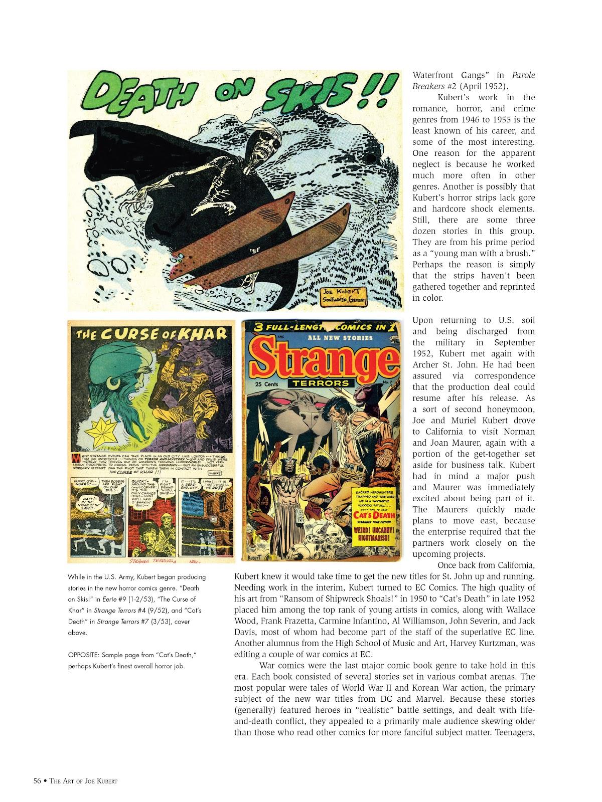 Read online The Art of Joe Kubert comic -  Issue # TPB (Part 1) - 55