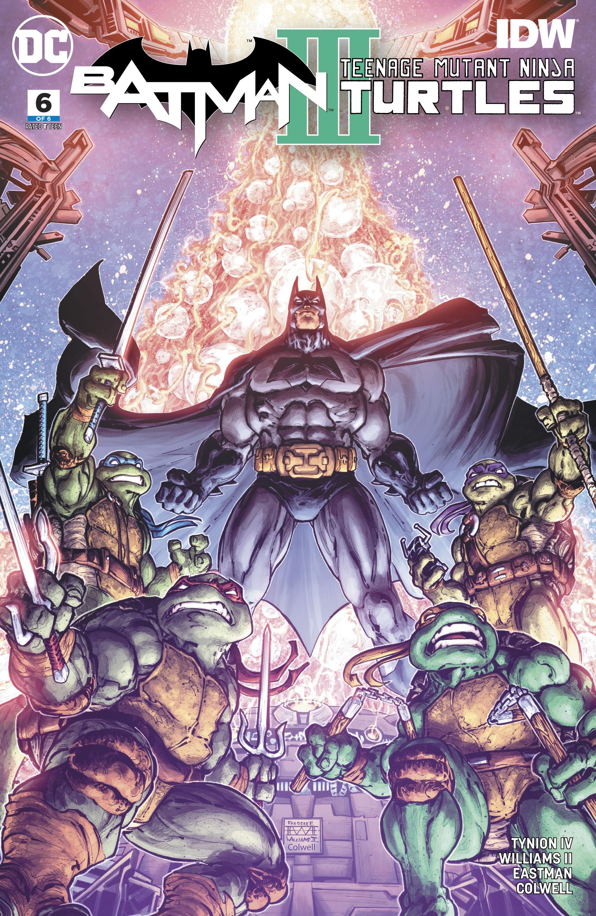 Batman/Teenage Mutant Ninja Turtles III 6 Page 1