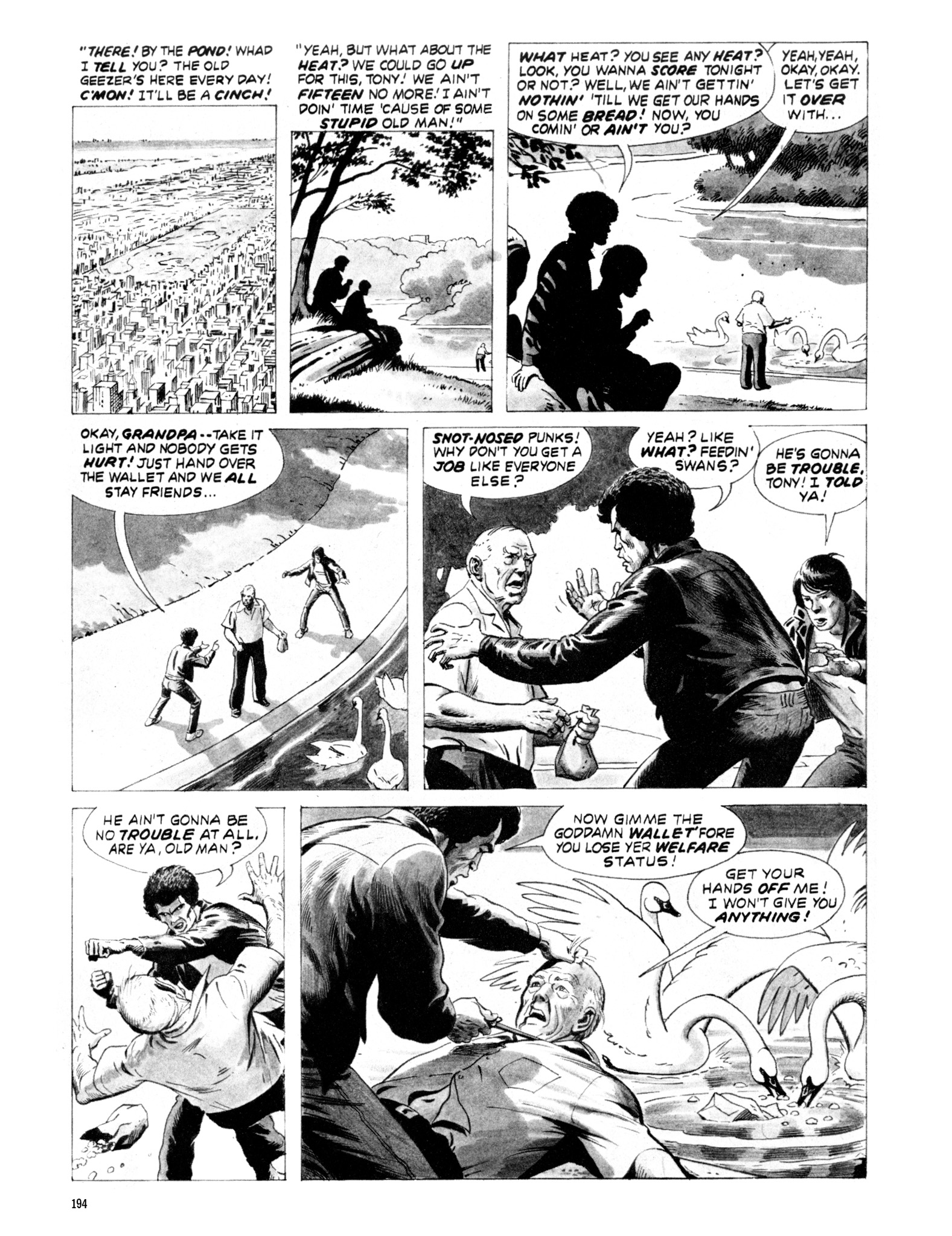 Read online Eerie Archives comic -  Issue # TPB 20 - 194